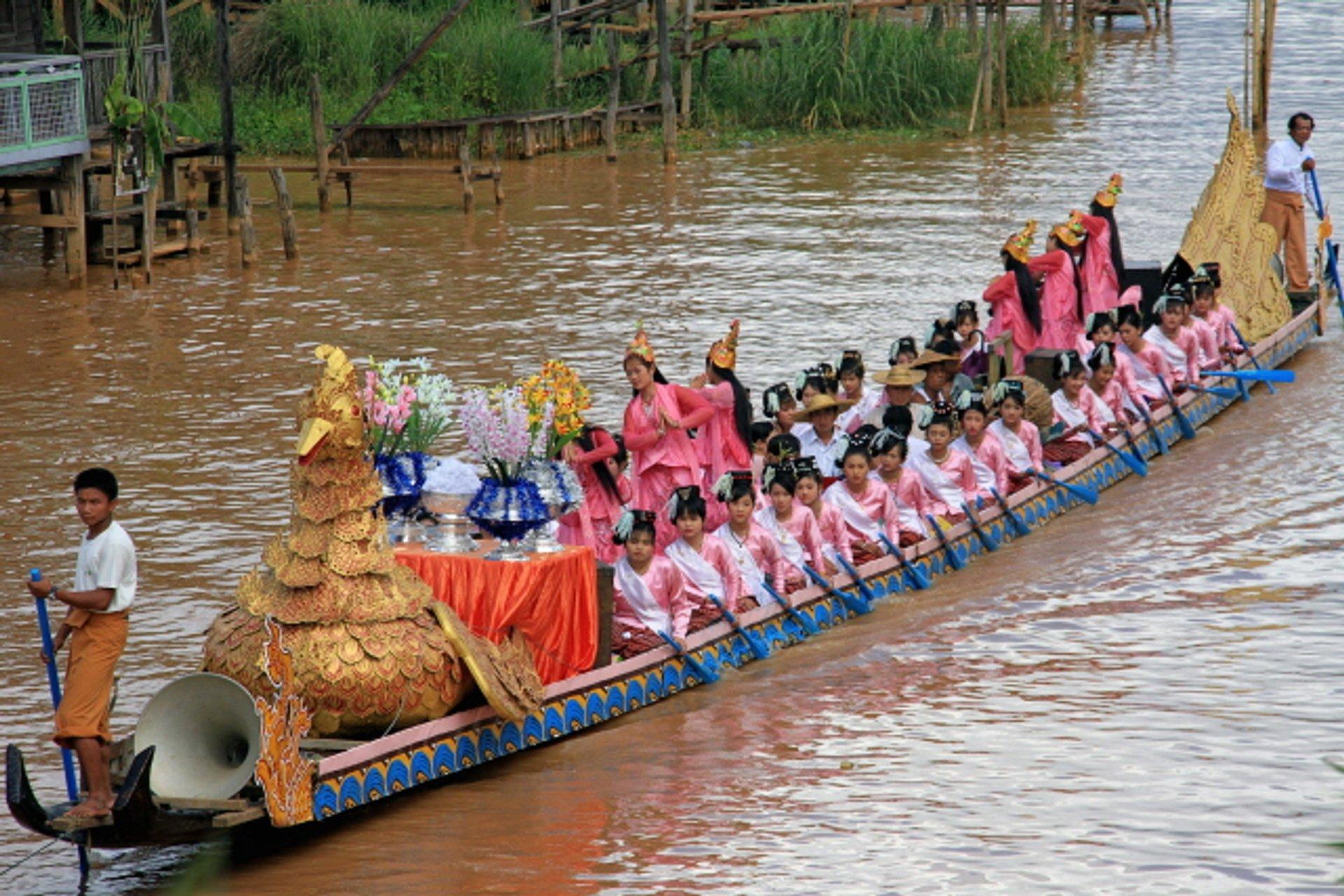 Phaung Daw Oo Pagoda Festival in Myanmar - Best Season