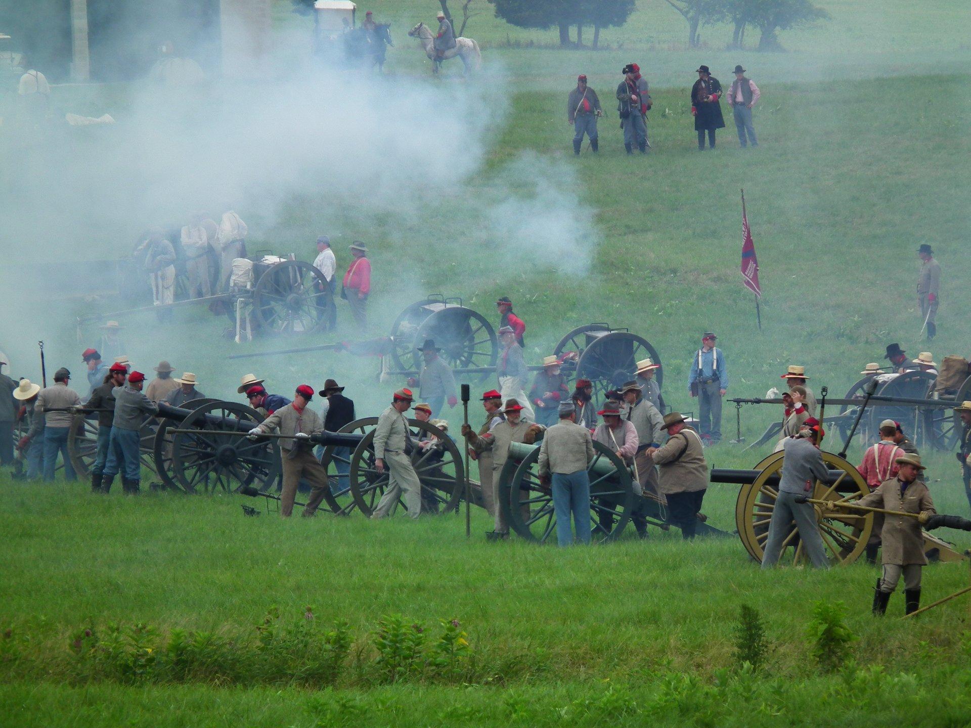Best time to see Gettysburg Civil War Battle Reenactment in Pennsylvania 2020