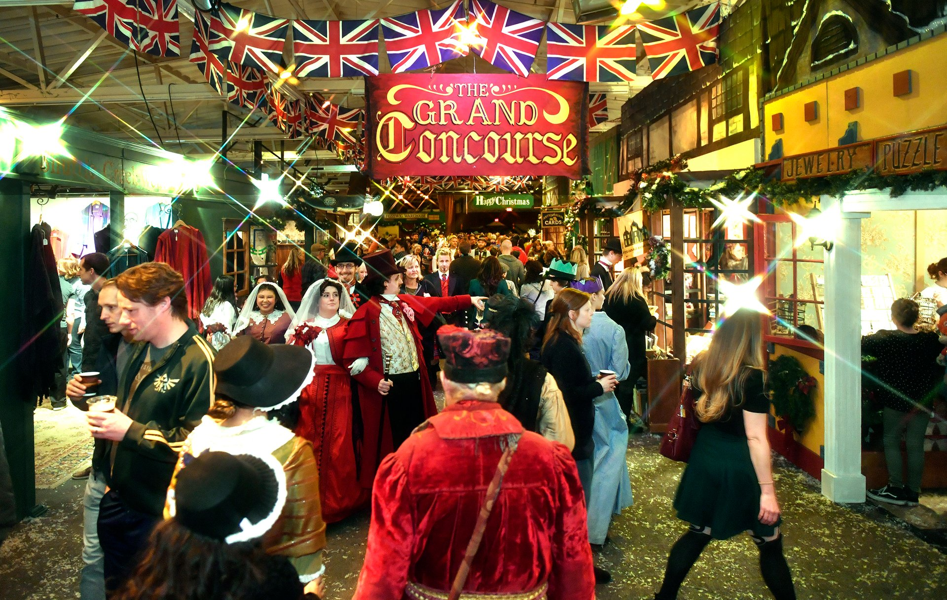 Great Dickens Christmas Fair in San Francisco 2020 - Best Time