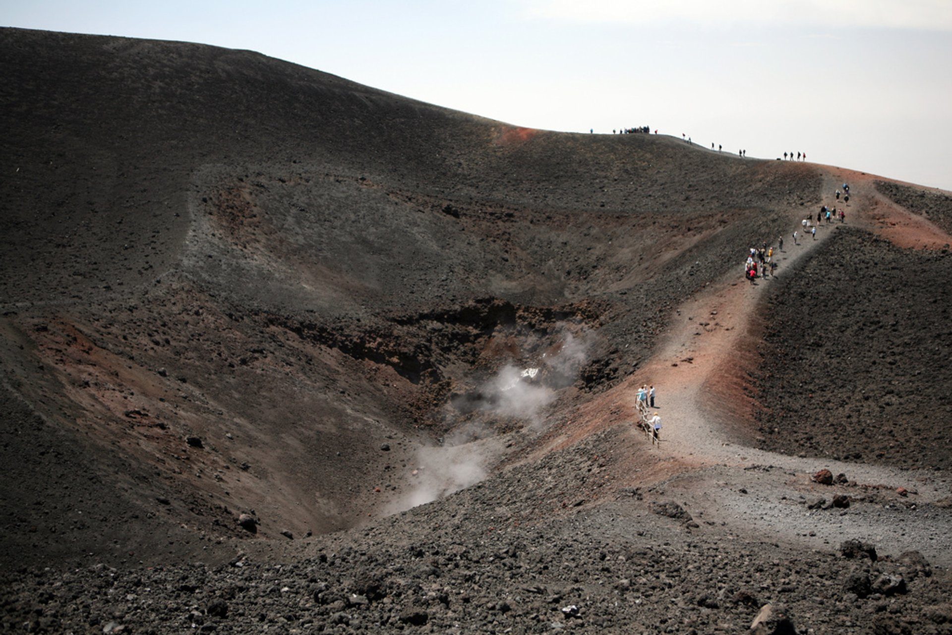 Best time for A Walk around Mount Etna in Sicily 2020