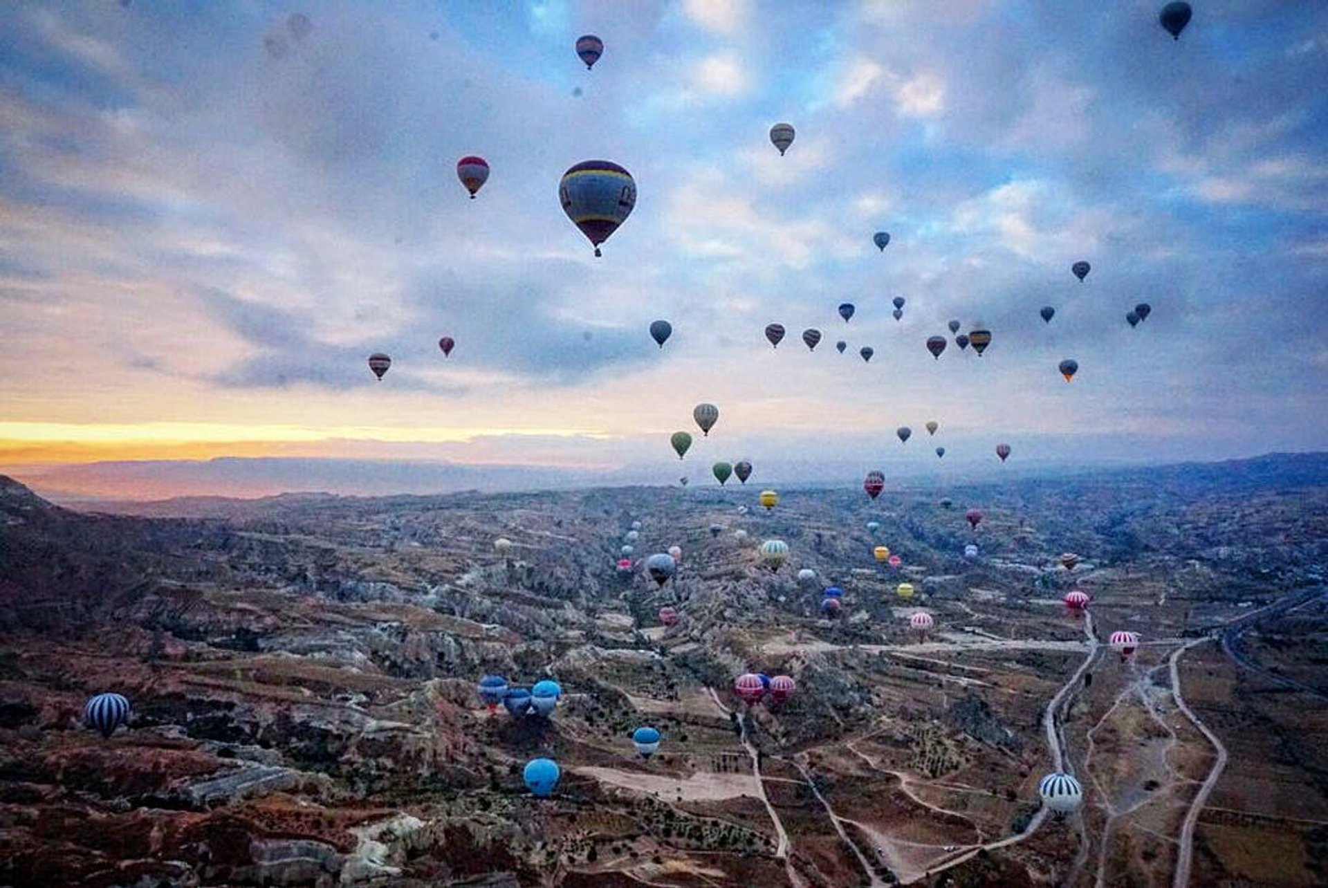 Best time for Ballooning Сhallenge in Cappadocia 2020
