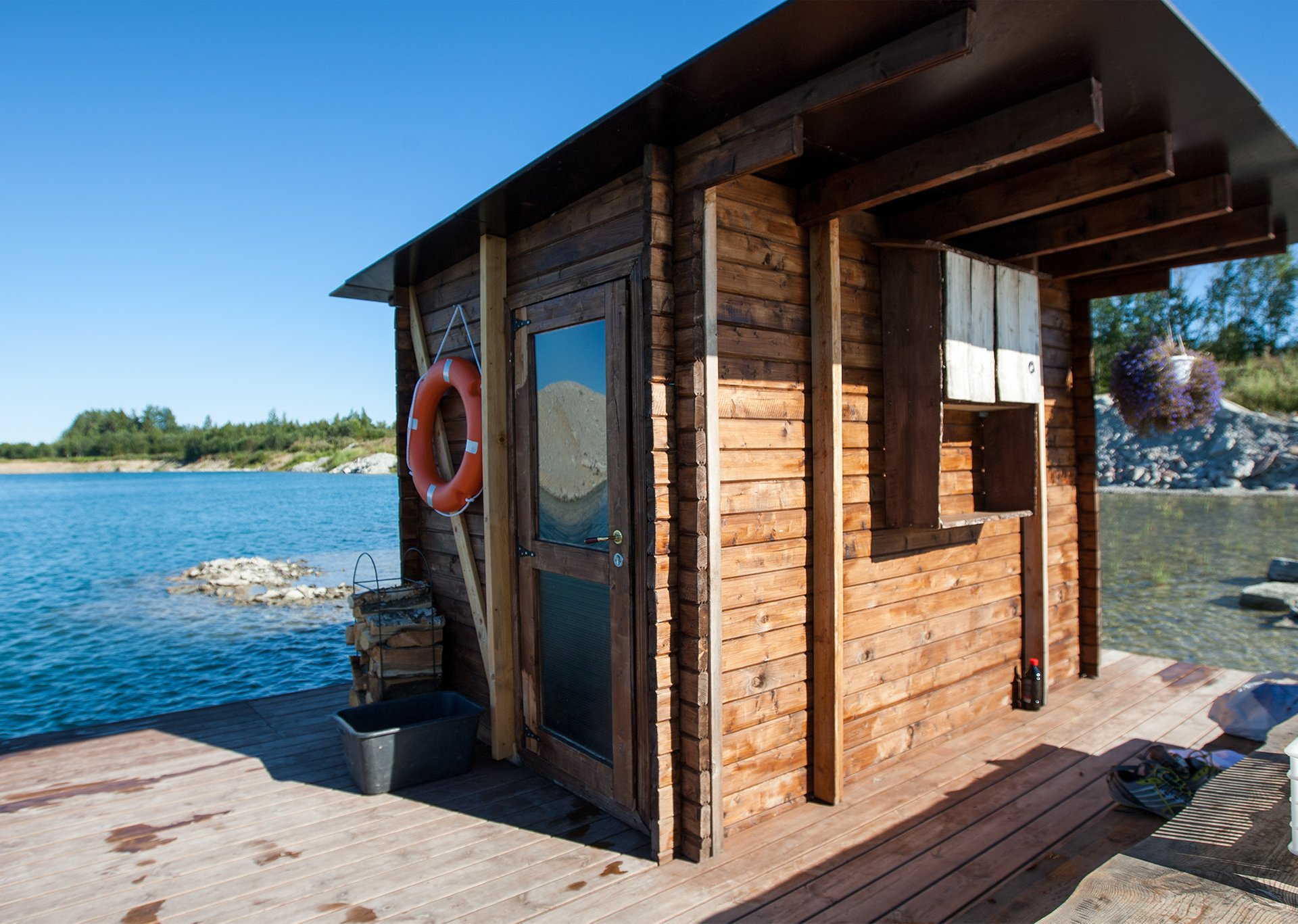 Floating Sauna in Estonia - Best Season 2020