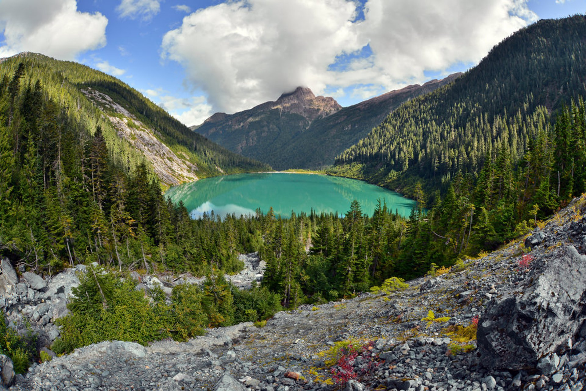 Landslide Lake in British Columbia 2020 - Best Time