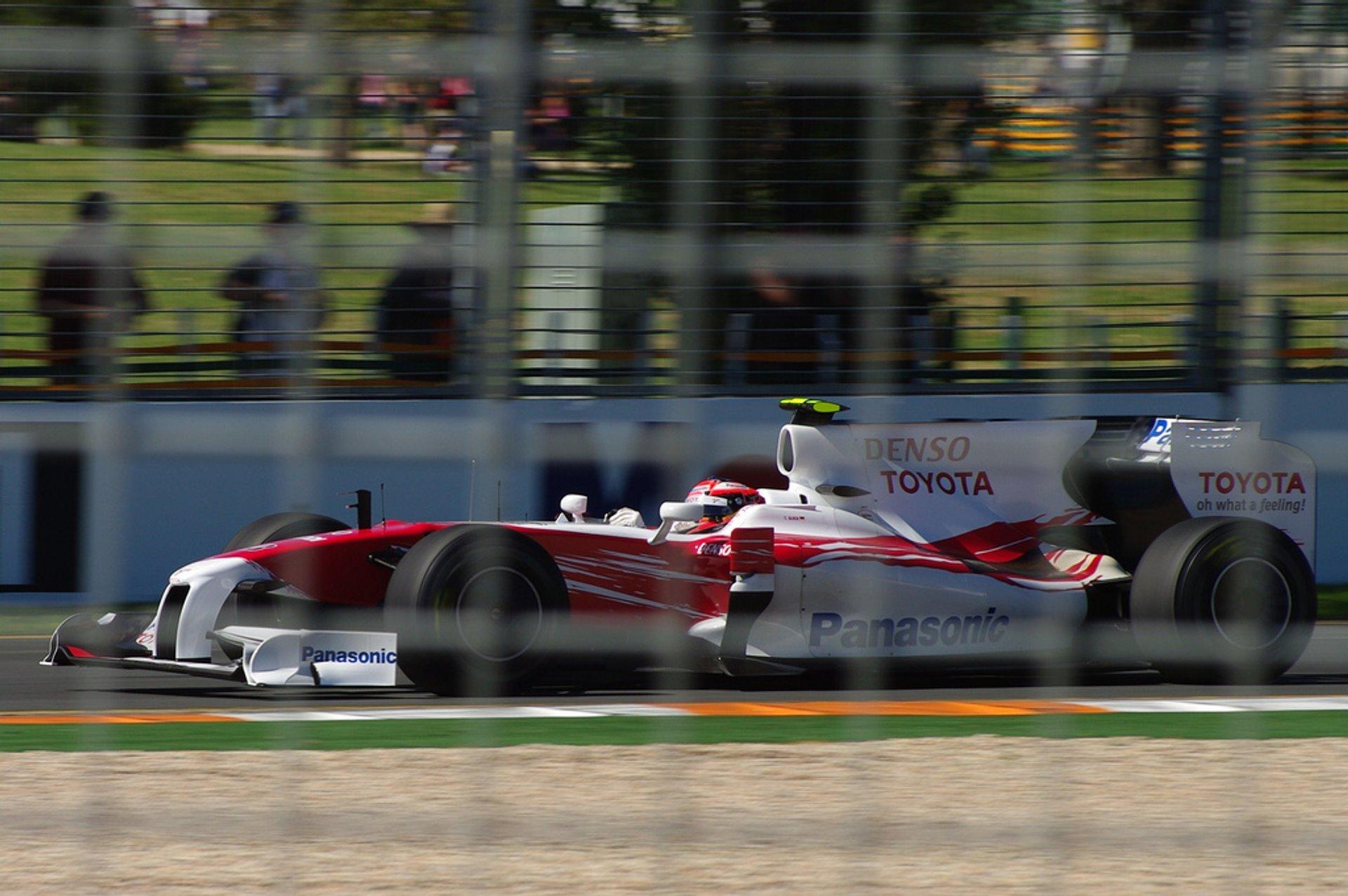 Australian Grand Prix in Melbourne 2019 - Best Time