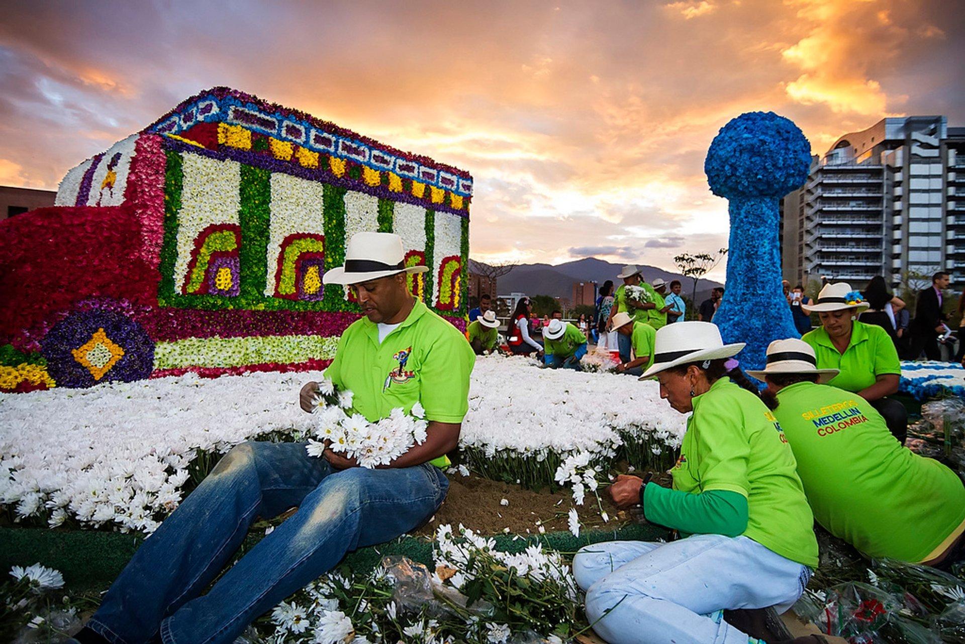 Feria de Las Flores (Flower Festival) in Colombia 2020 - Best Time