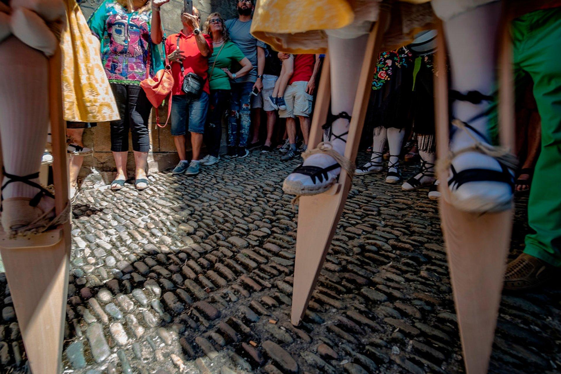 Anguiano Stilt Dance in Spain - Best Season 2020