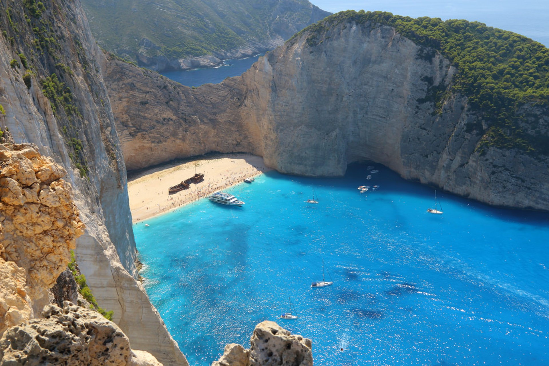Best time for Navagio Shipwreck Beach in Greece 2019