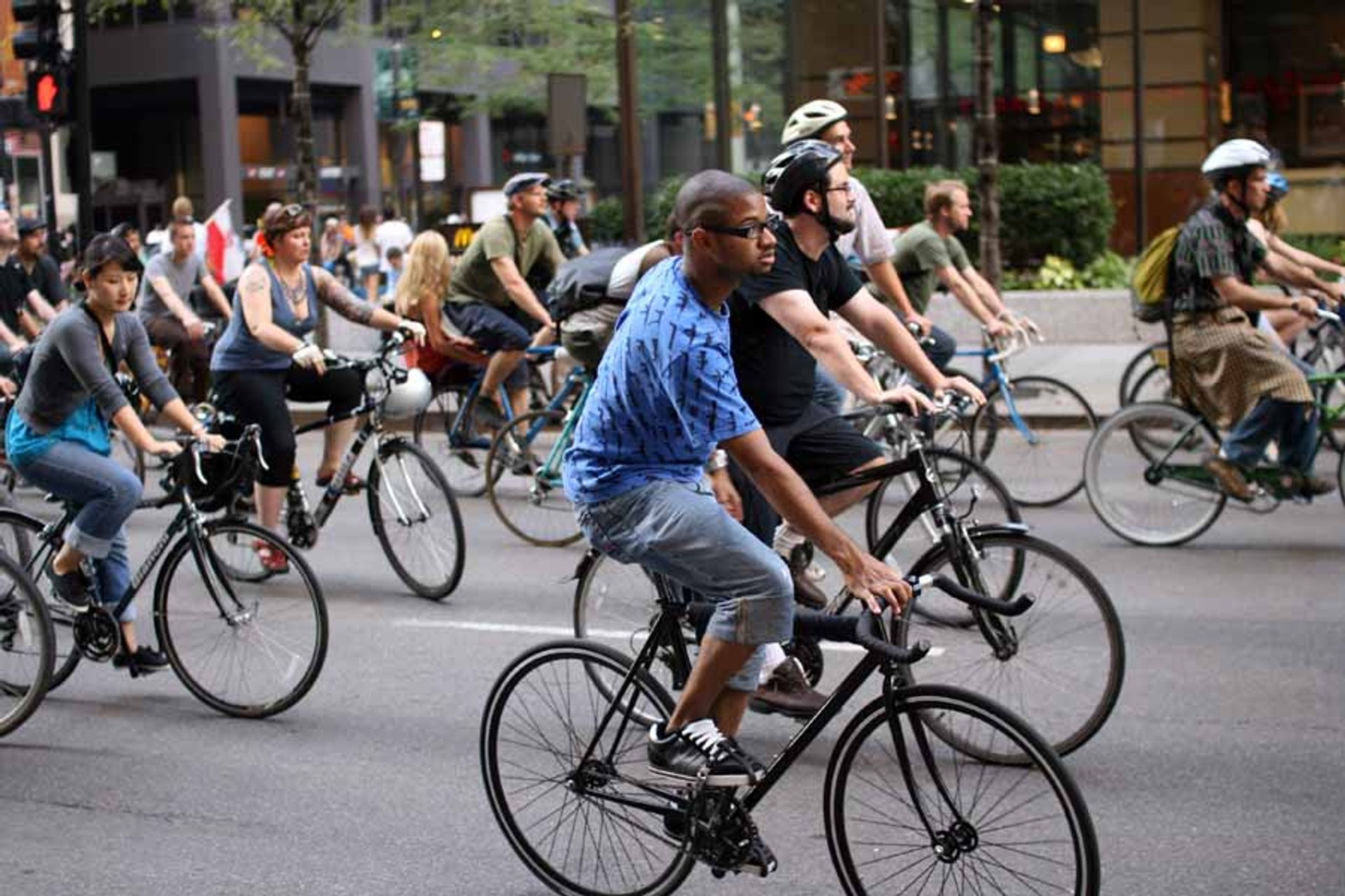 Critical Mass in Chicago 2019 - Best Time