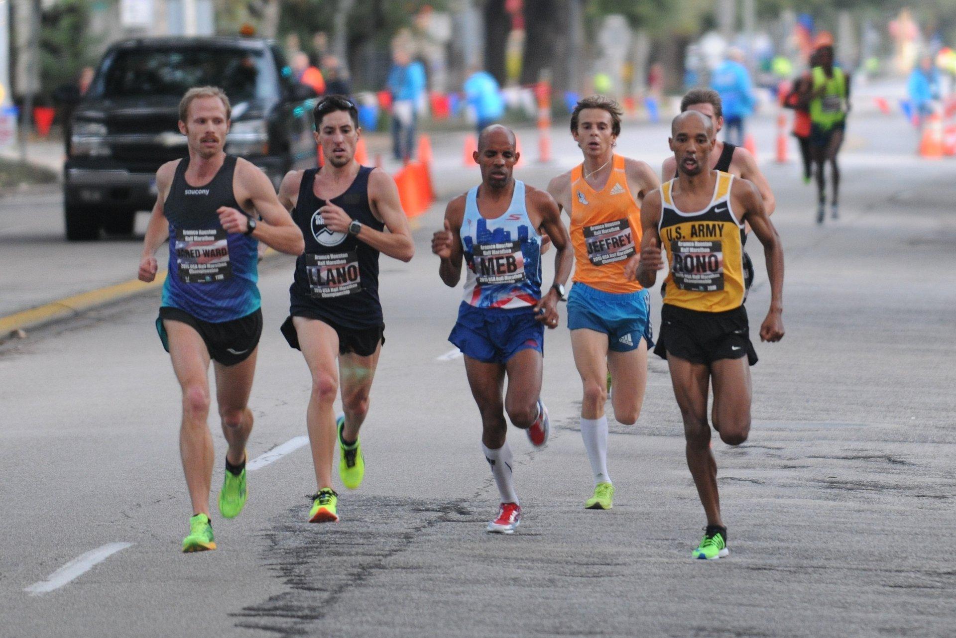 Best time for Chevron Houston Marathon 2020