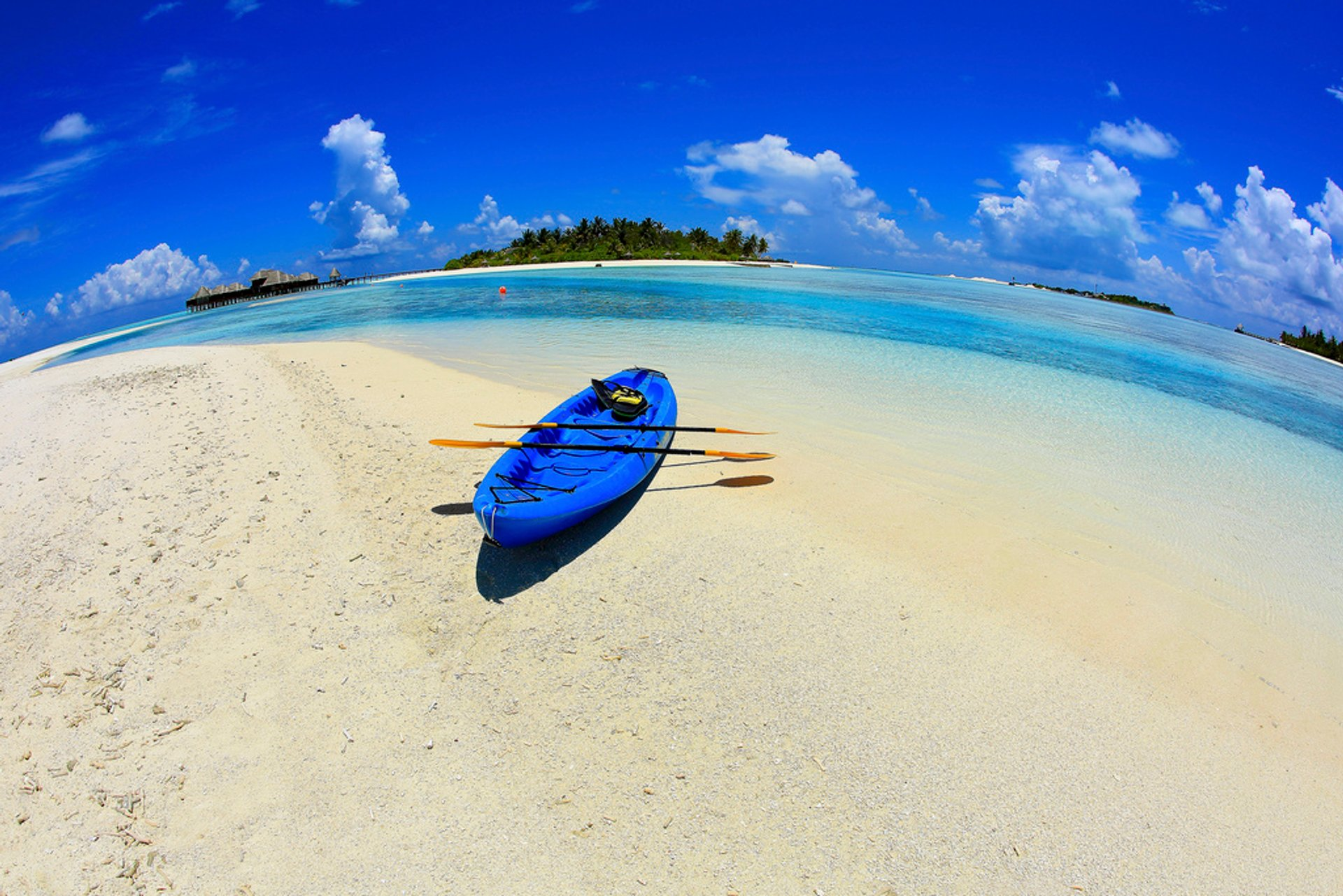 Kayaking  in Maldives - Best Season 2020