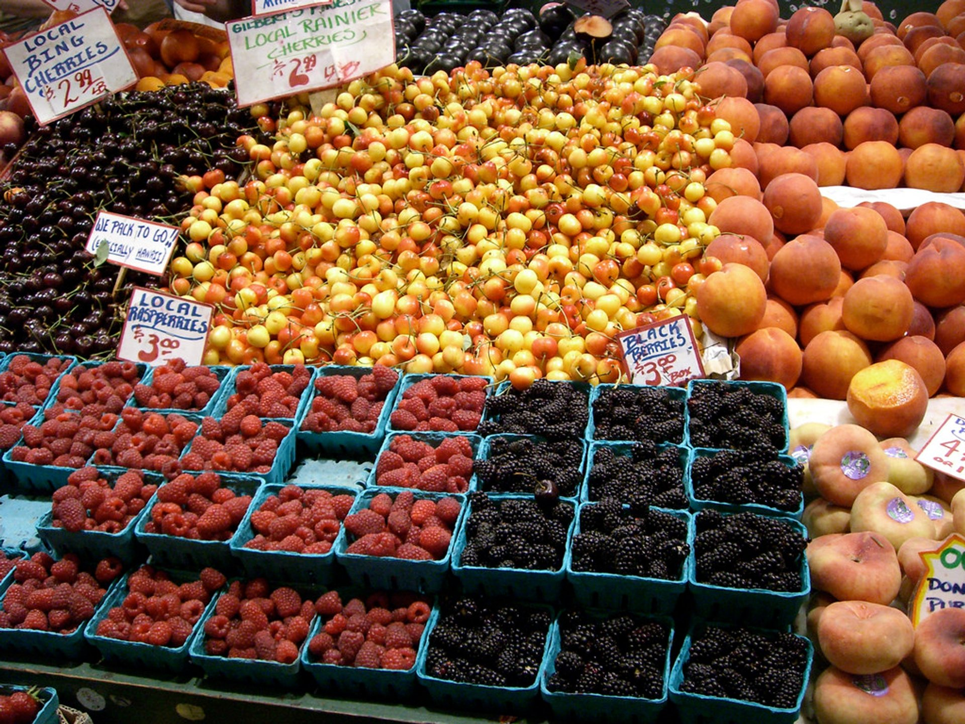 Best time for Pike Place Market in Seattle 2020