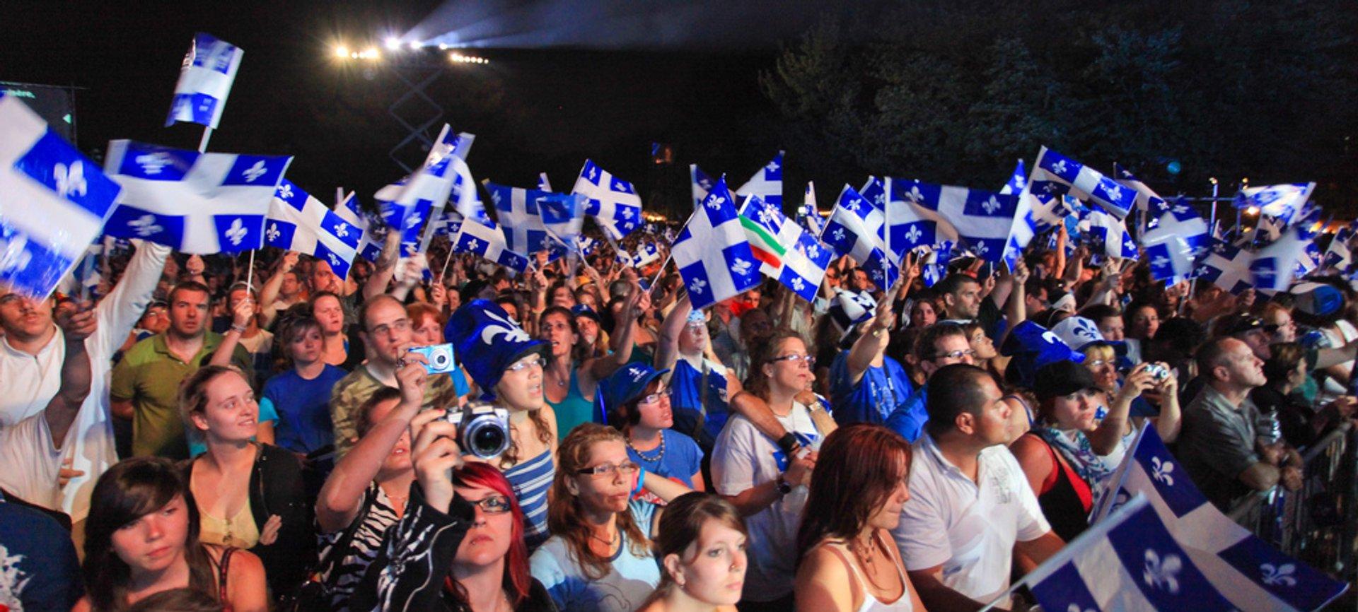St. Jean Baptiste Day in Quebec 2020 - Best Time