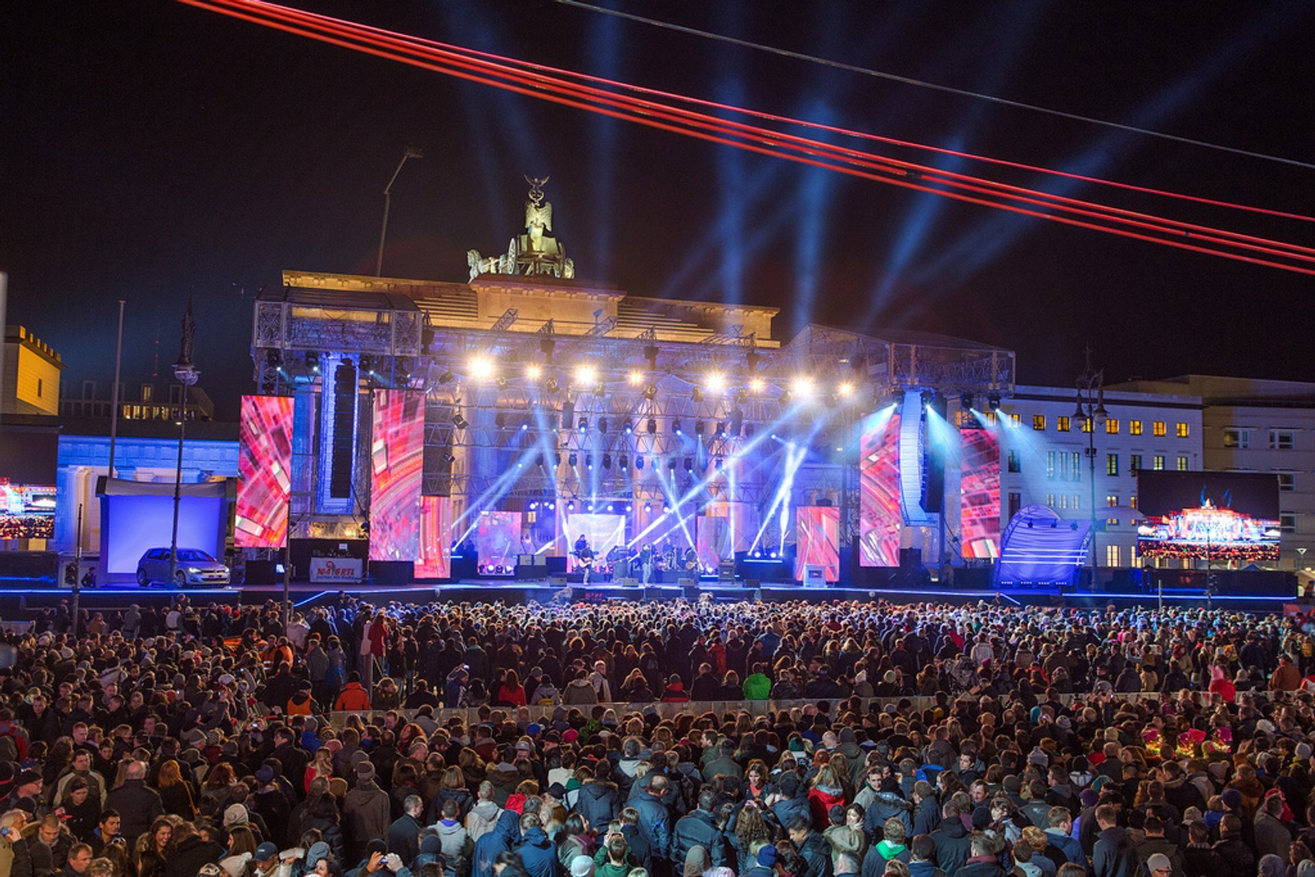 New Year's Eve or Silvester 2020-2021 in Berlin - Dates & Map