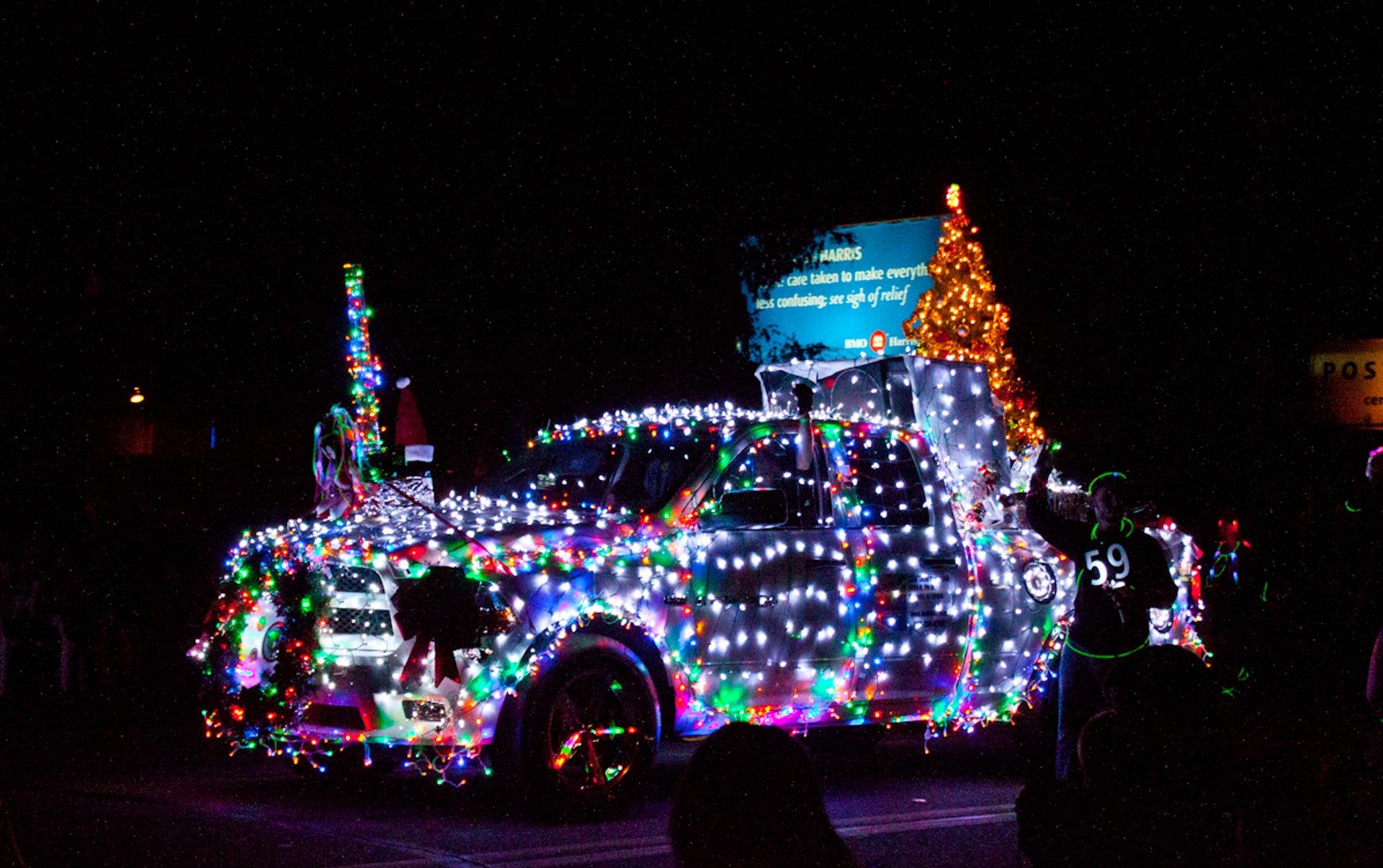 APS Electric Light Parade in Arizona - Best Season 2019