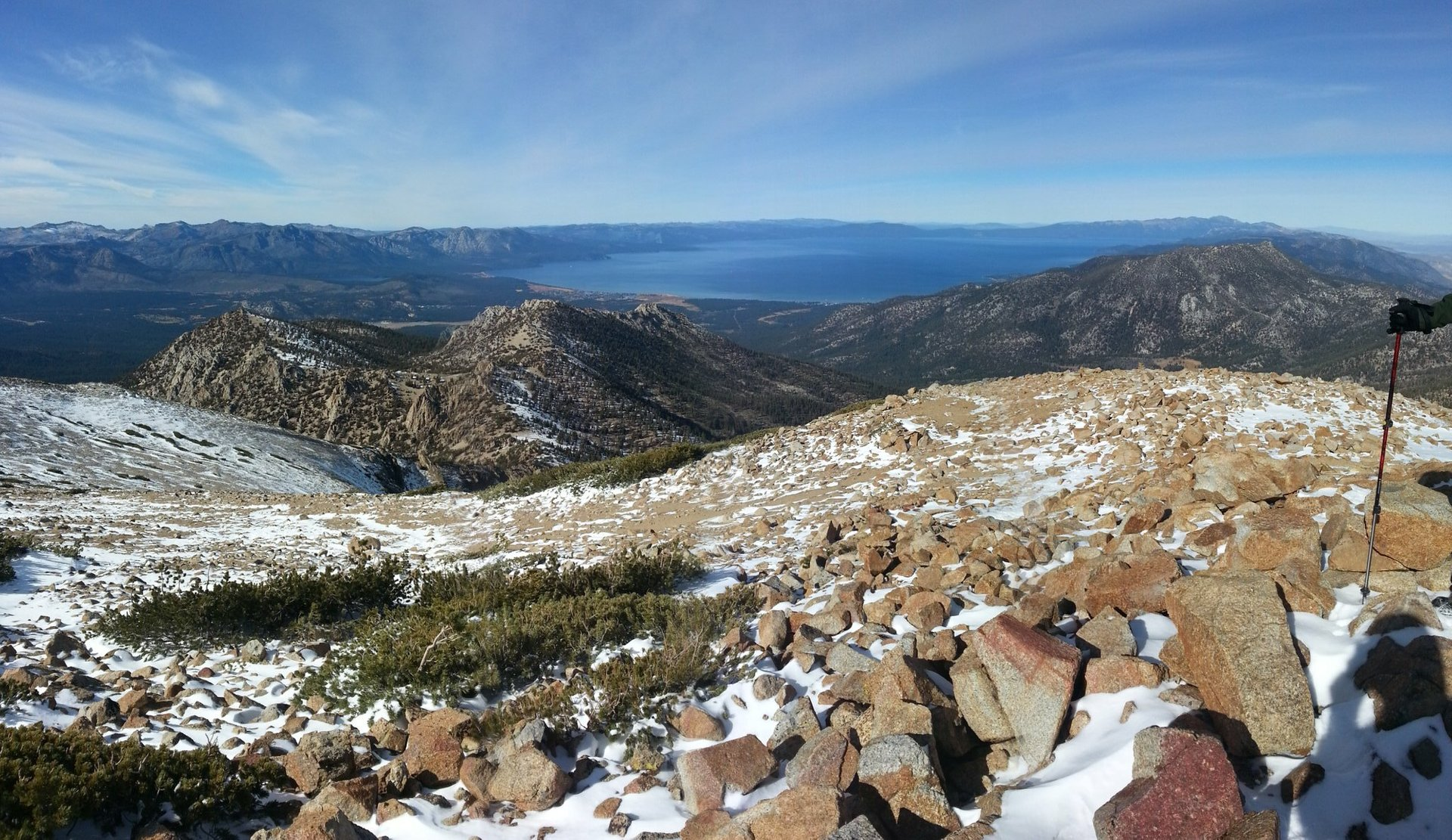 Freel Peak in Lake Tahoe - Best Season 2020