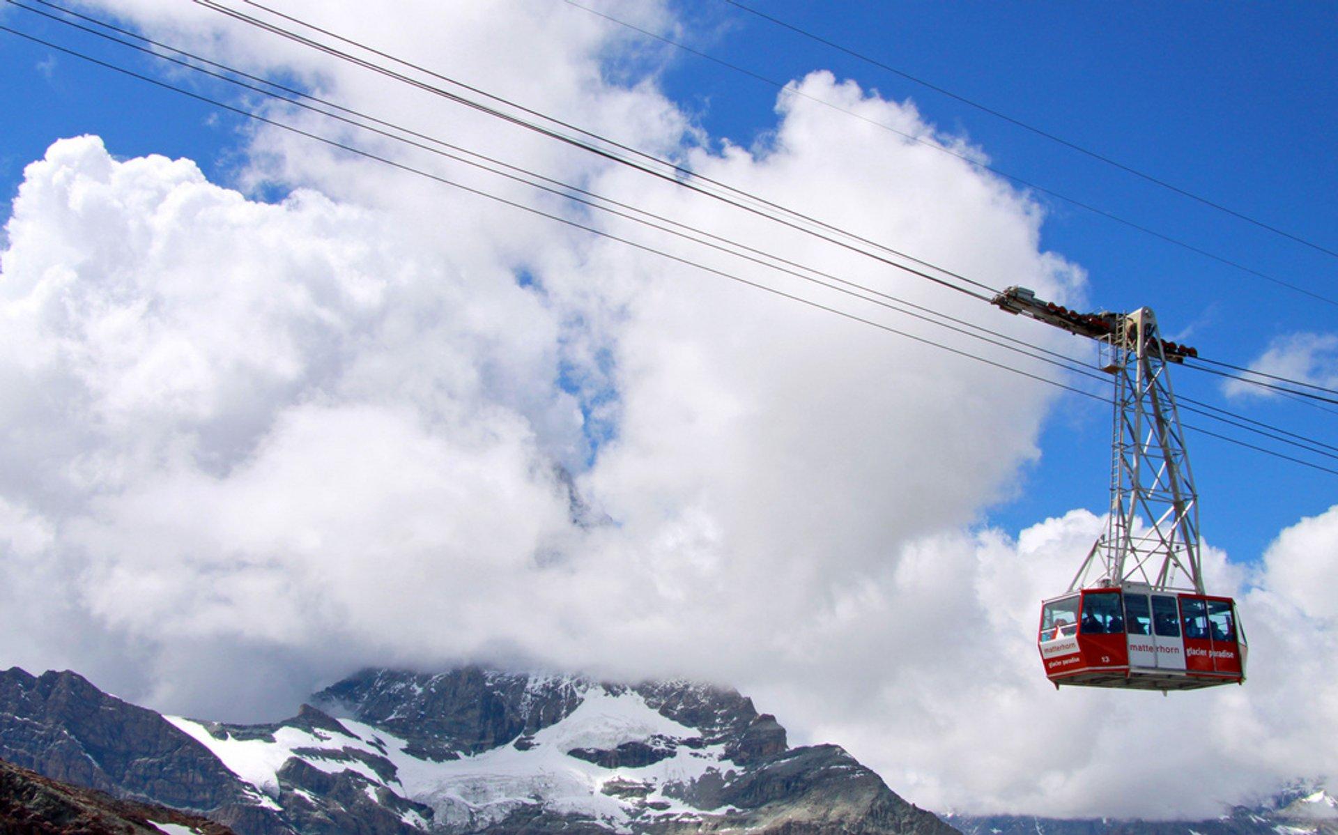 Zermatt. Mount Matterhorn 2020
