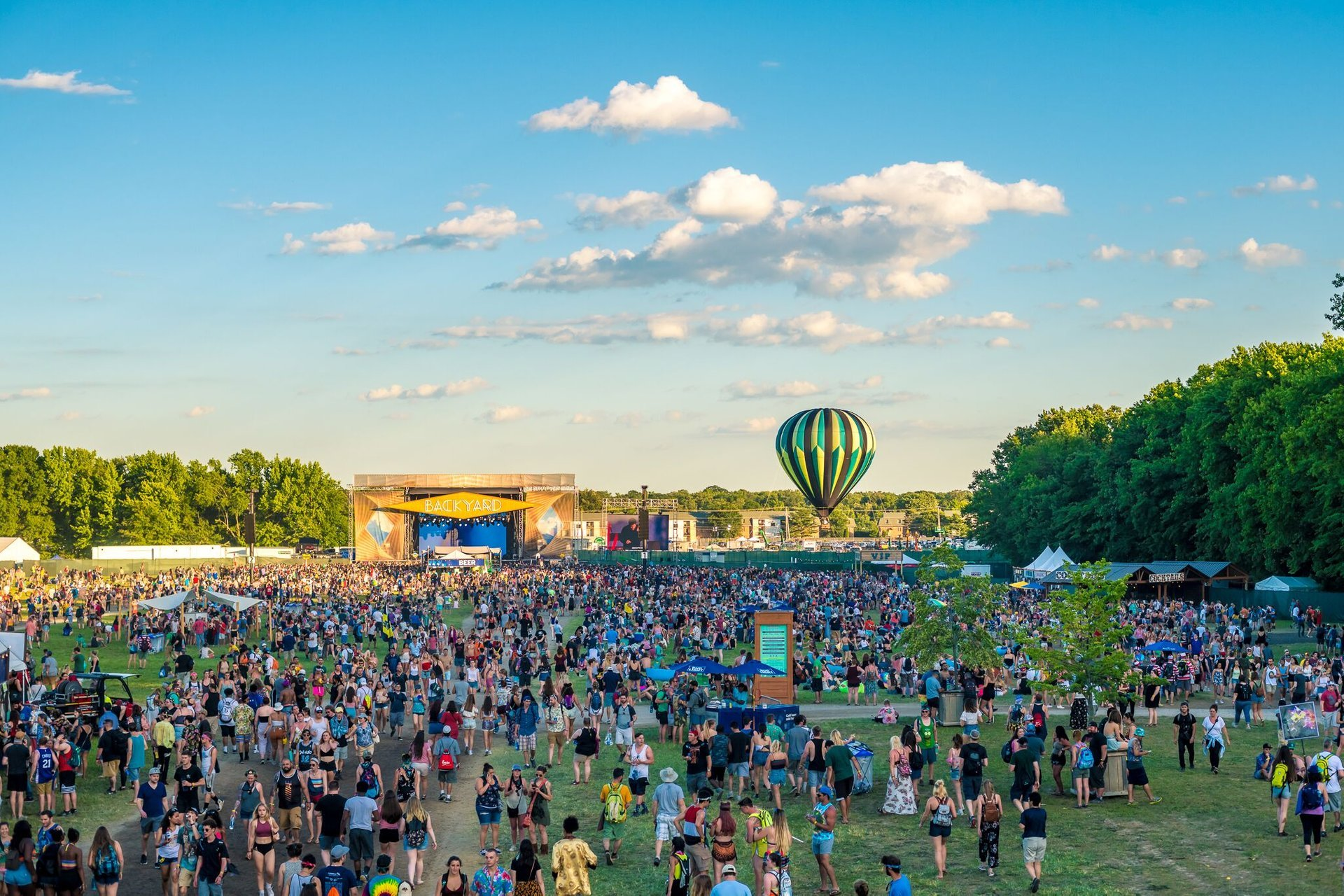 Best time for Firefly Music Festival in Delaware 2020