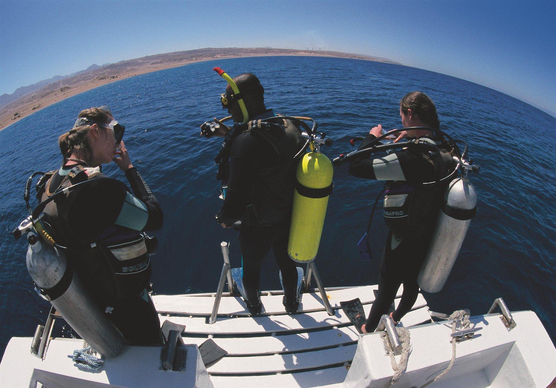 Aqaba Diving in Jordan - Best Season