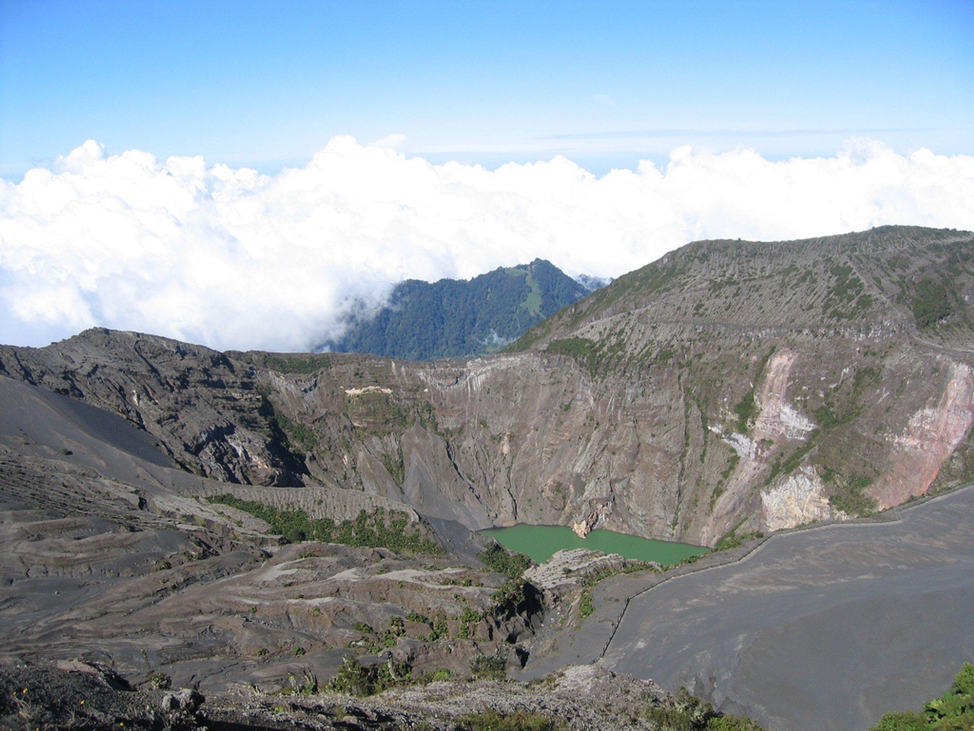 Irazu Volcano in Costa Rica - Best Season 2020