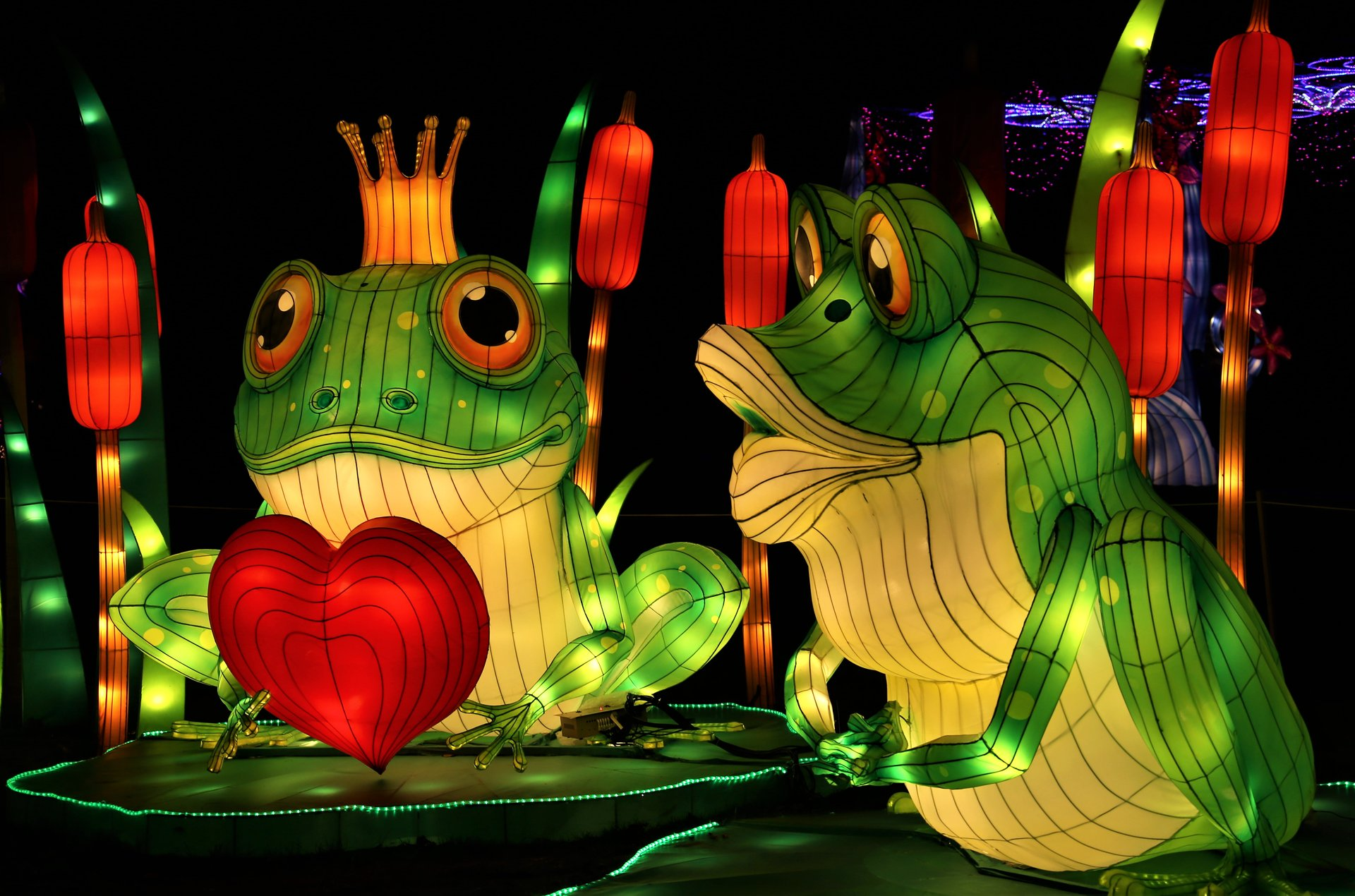 Best time for NYC Winter Lantern Festival in New York 2020