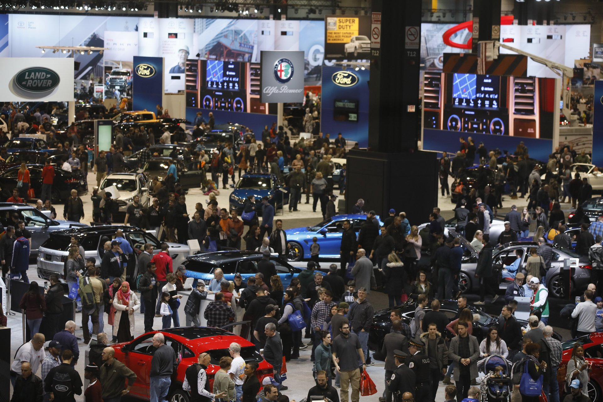 Best time for Chicago Auto Show in Chicago 2019