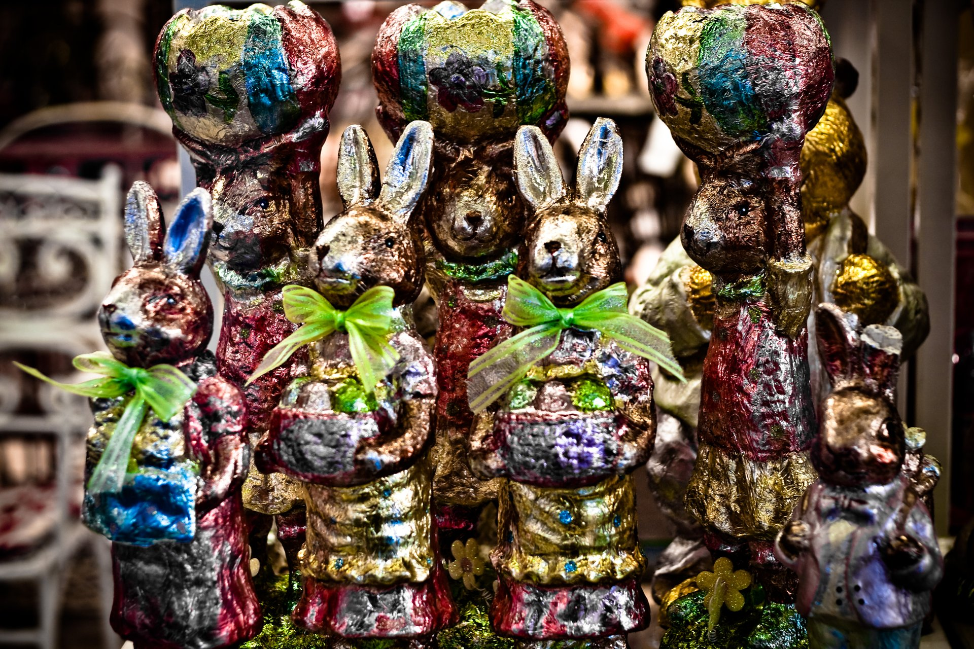 Chocolate Easter Bunnies 2020