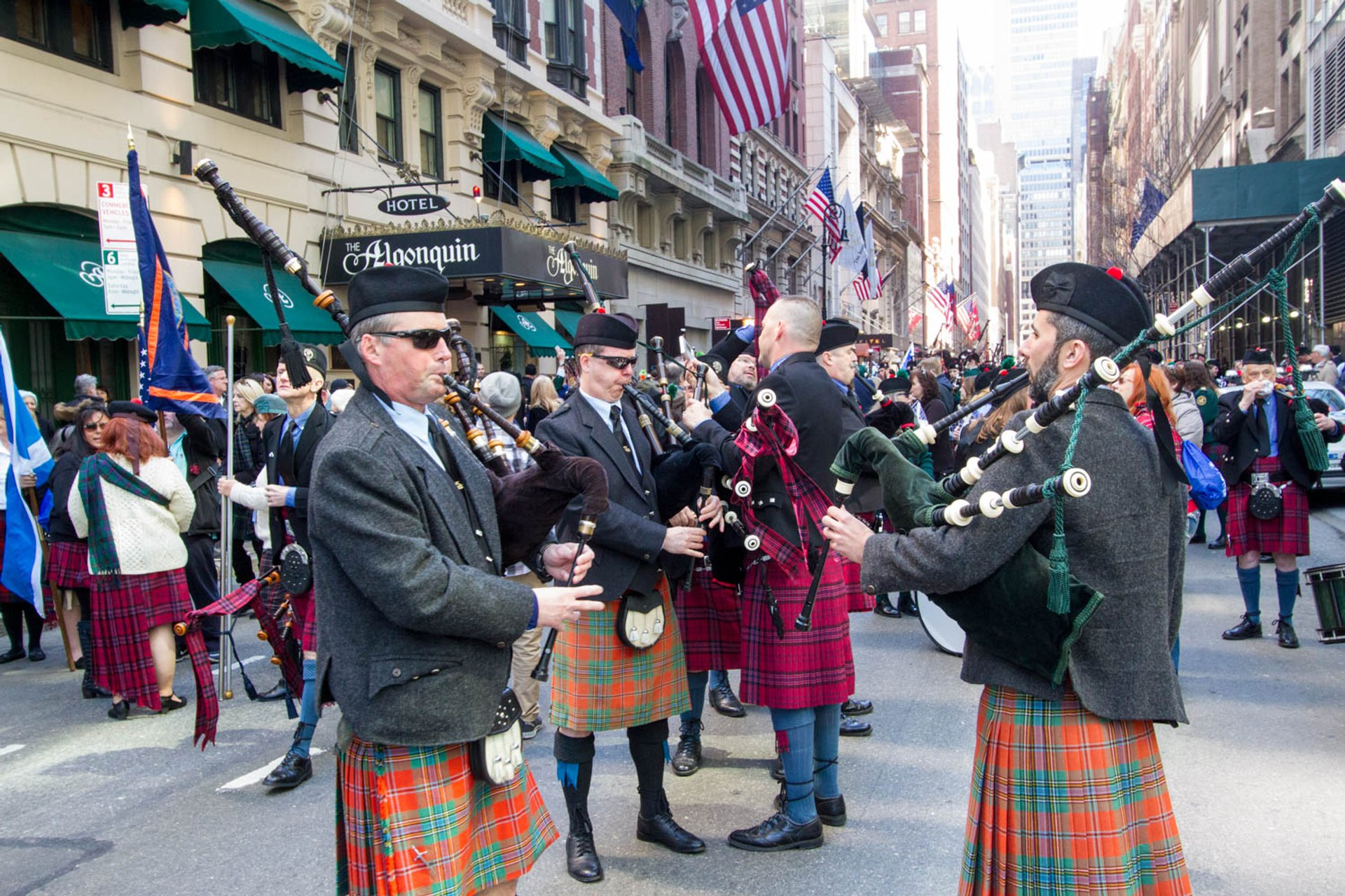Best time for New York City Tartan Day Parade 2020
