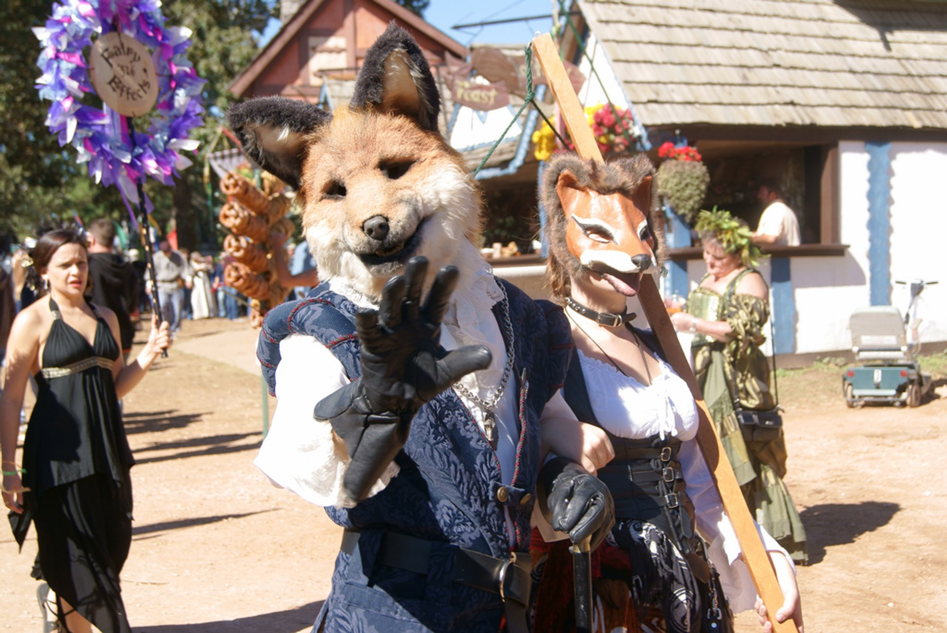 Best time to see Texas Renaissance Festival in Texas 2020