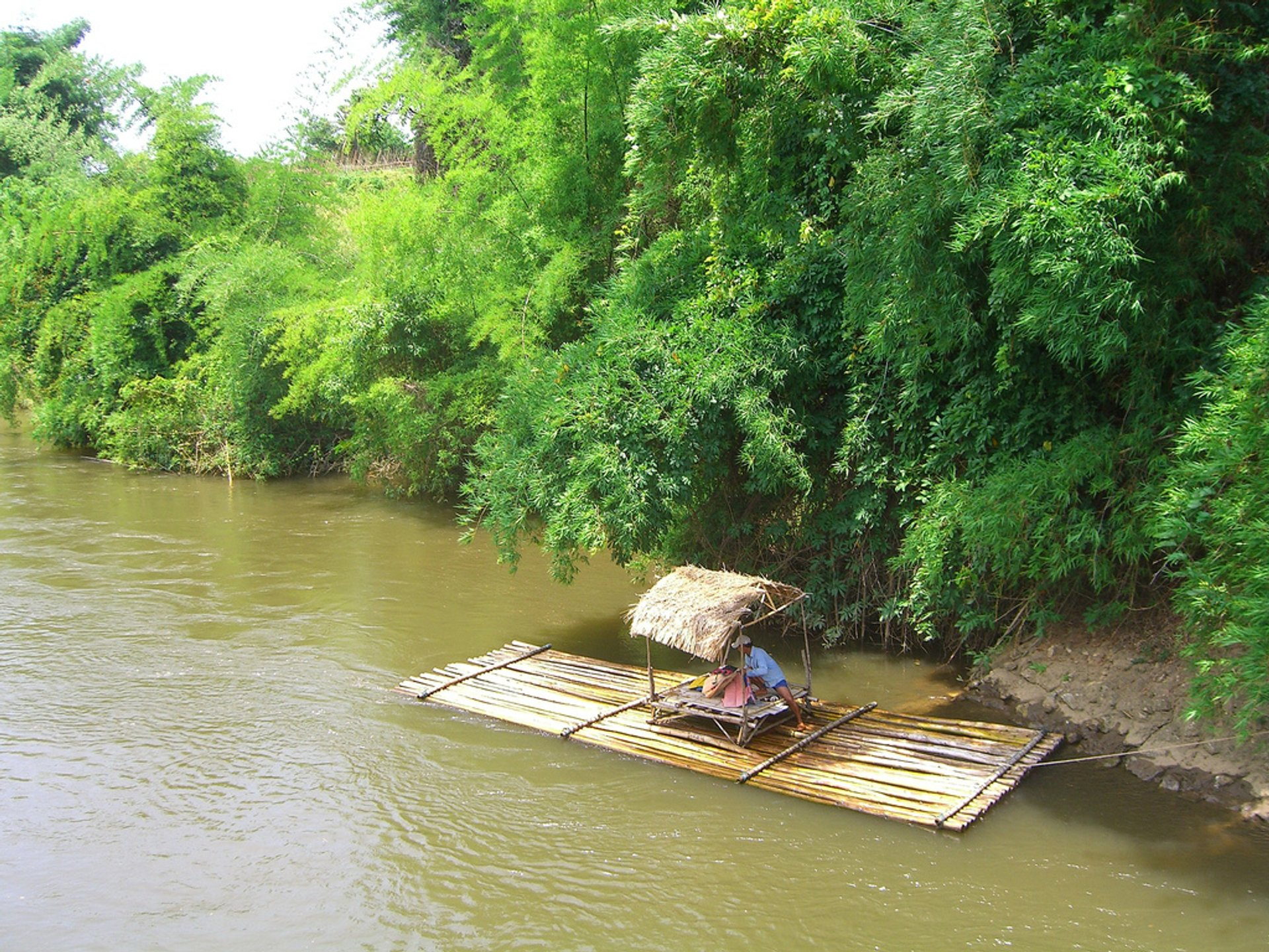 Bamboo Rafting During Dry Season in Thailand - Best Season 2020