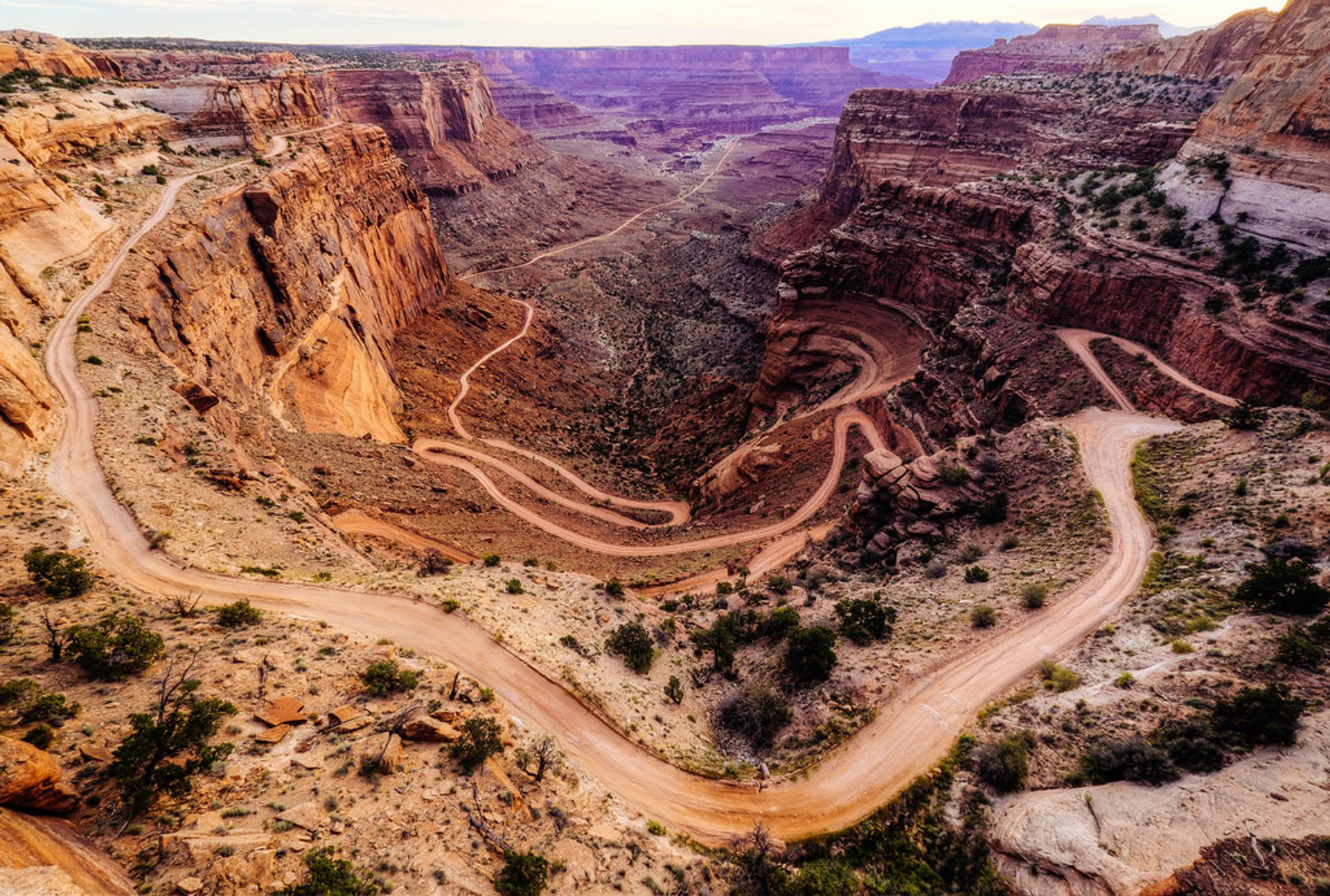 Shafer Trail in Utah 2020 - Best Time