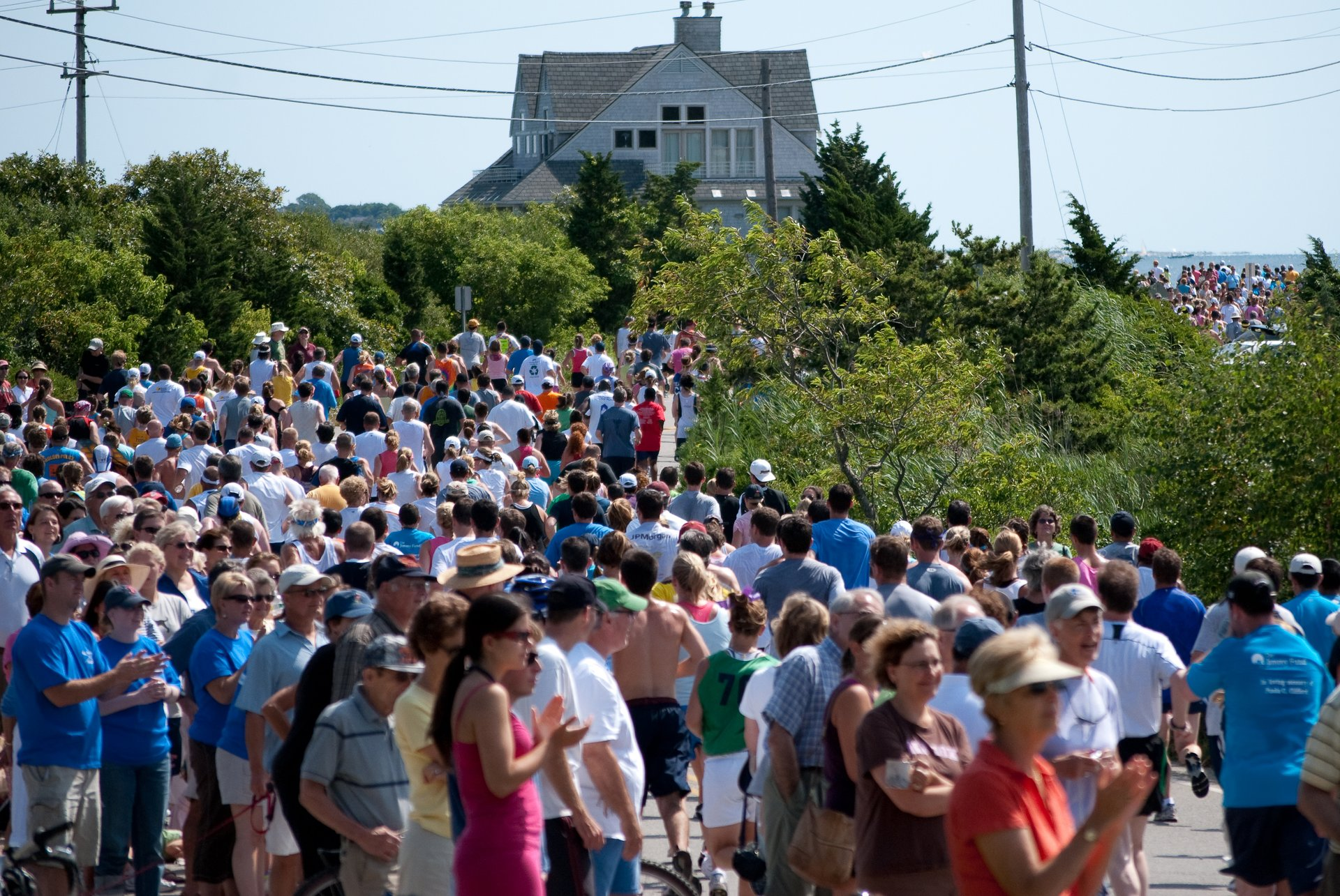 Best time to see Falmouth Road Race 2020