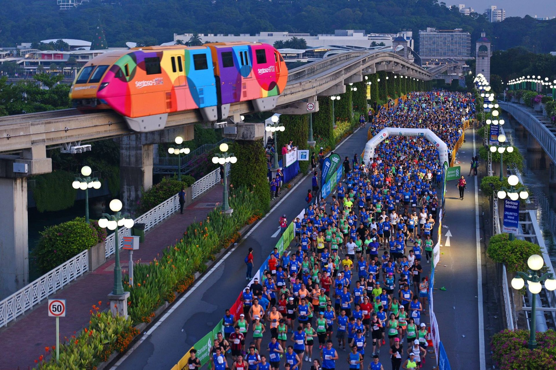 Best time for Standard Chartered Marathon Singapore in Singapore 2019