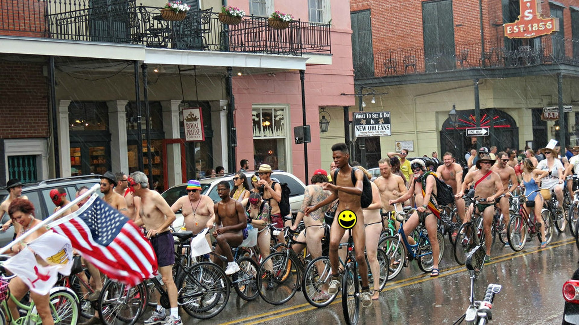 World Naked Bike Ride in New Orleans 2019 - Best Time
