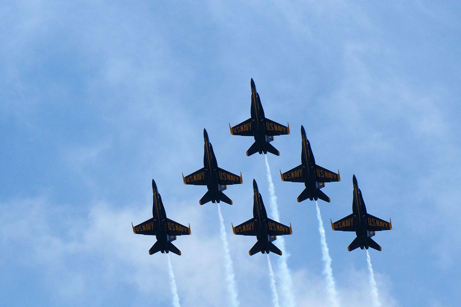 U.S. Navy Blue Angels in Dayton 2020