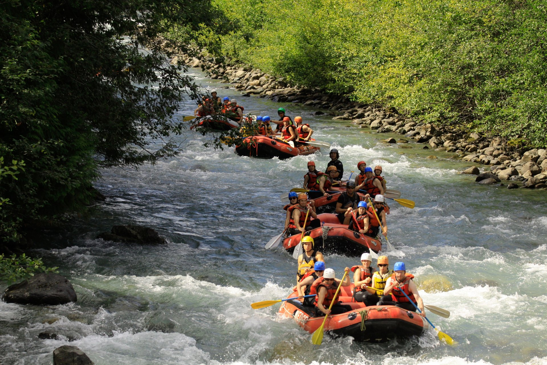 Rafting in Vancouver - Best Season 2020