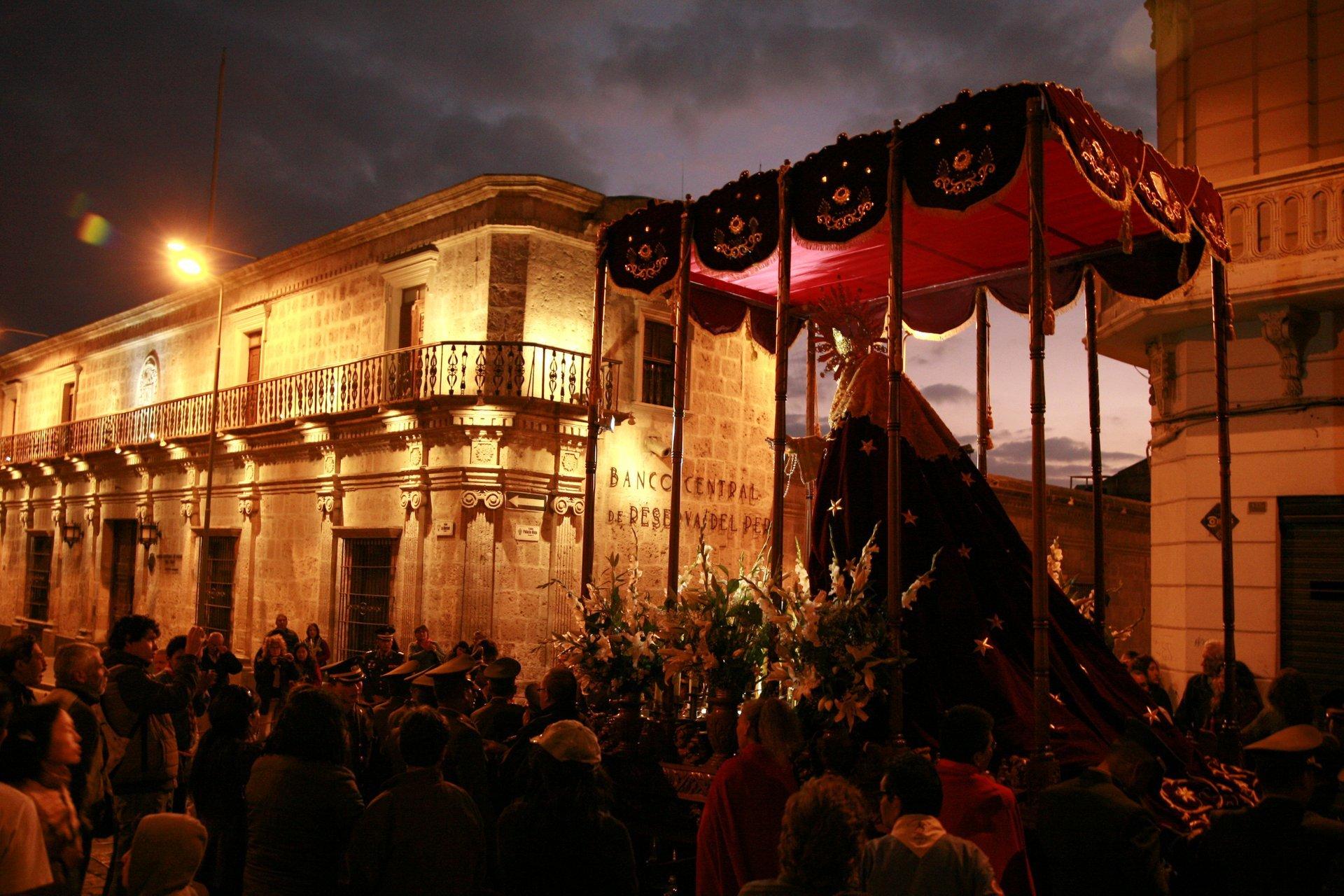 Semana Santa in Arequipa 2020