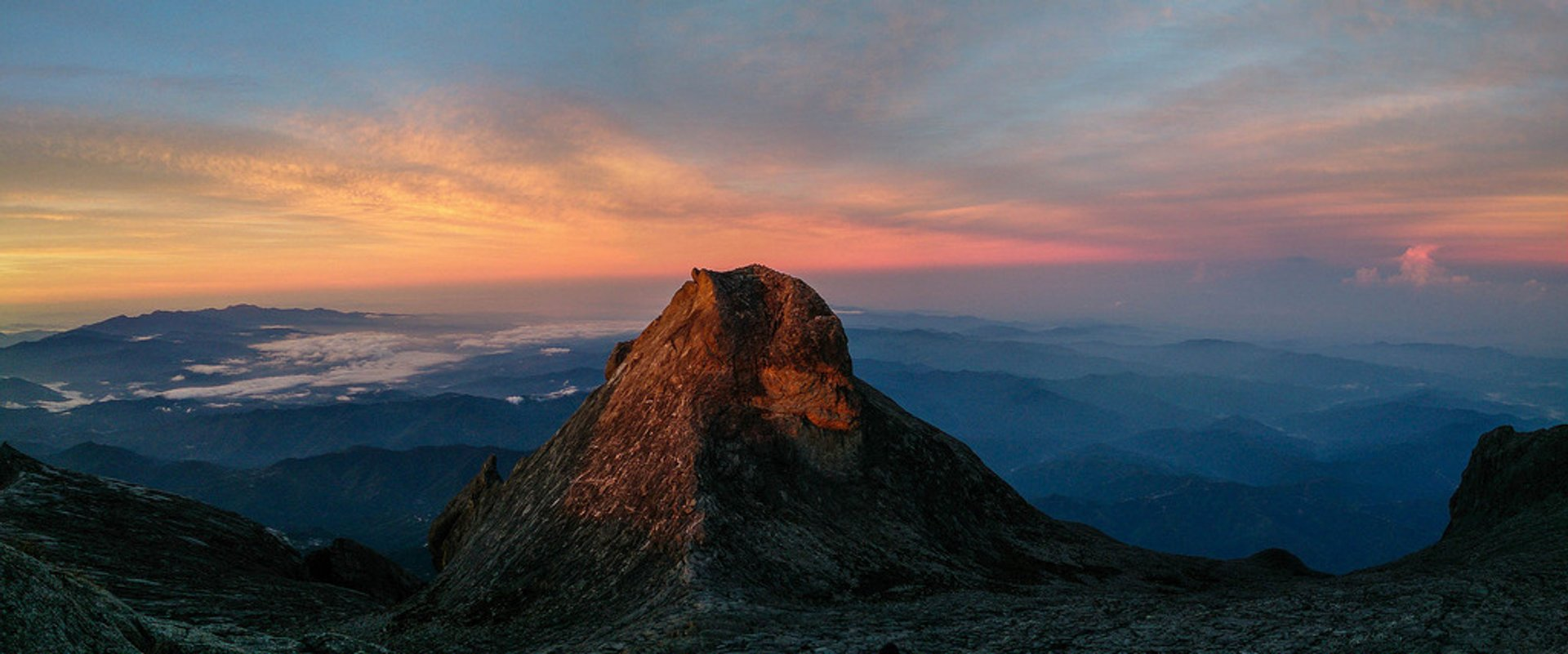 Sunrise on Mount Kinabalu in Borneo 2019 - Best Time