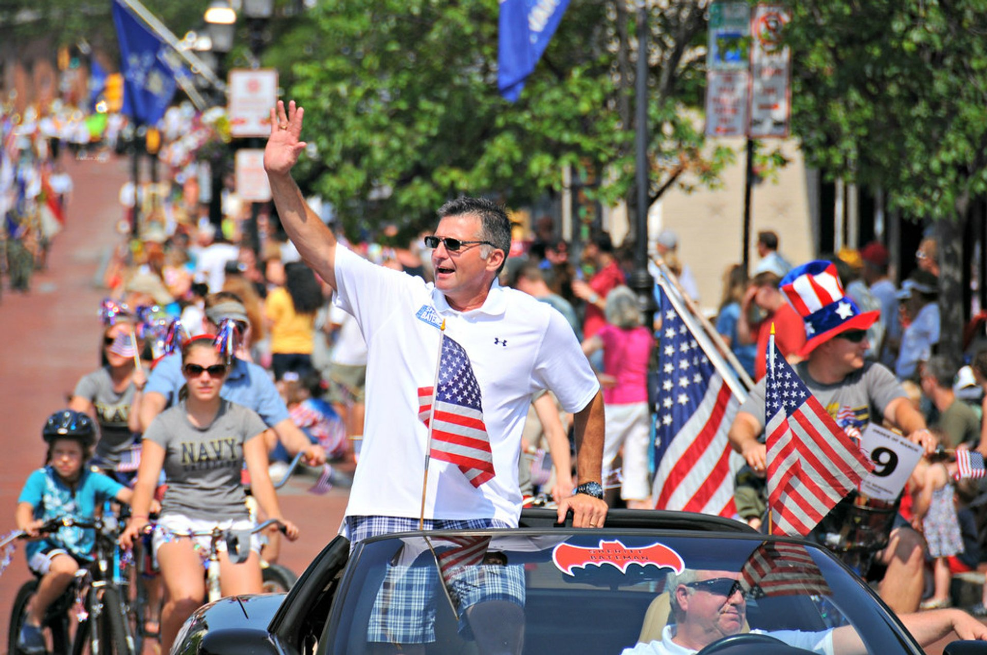 Memorial Day Parade in Annapolis 2020