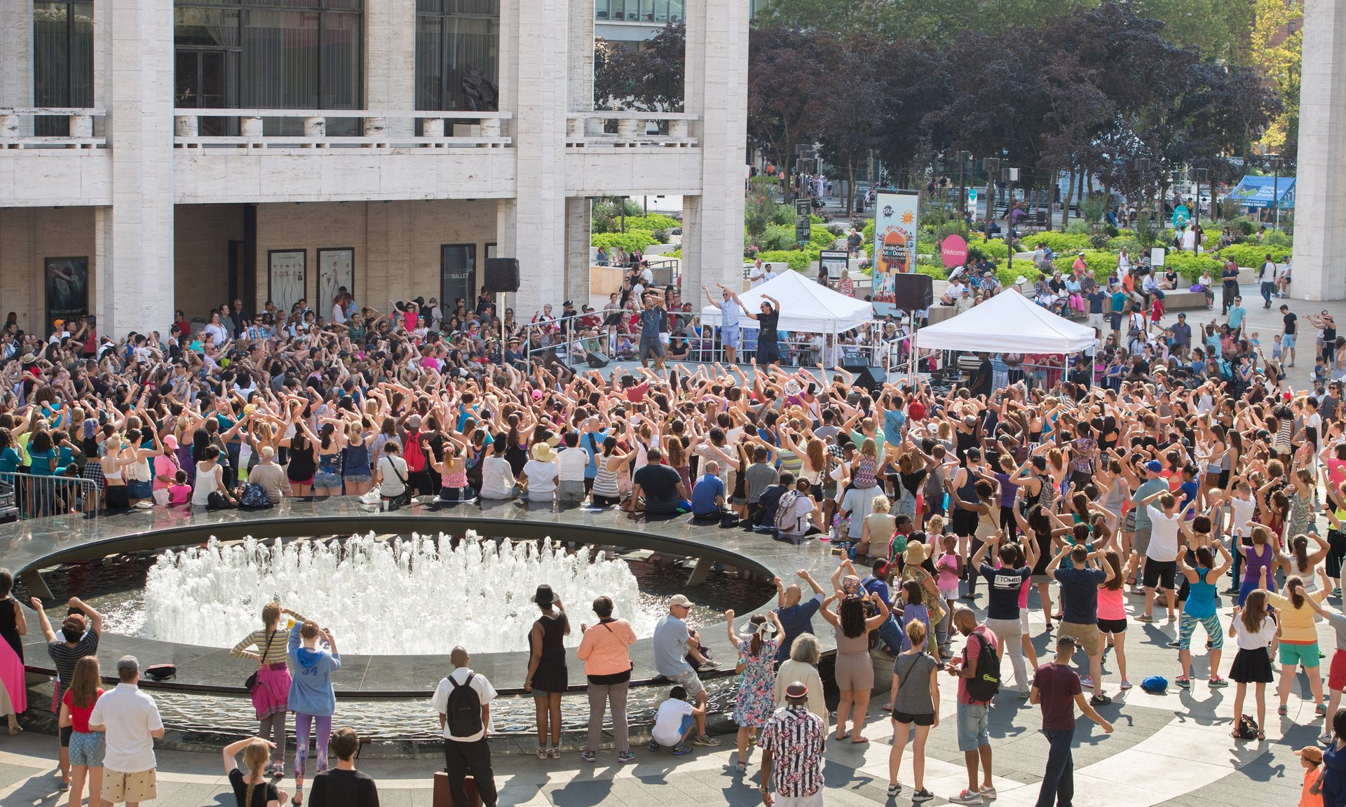 Best time for Lincoln Center Out of Doors in New York 2020