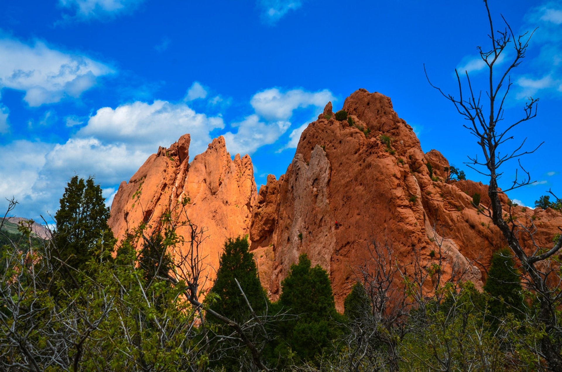 Garden of the Gods in Colorado - Best Season 2020