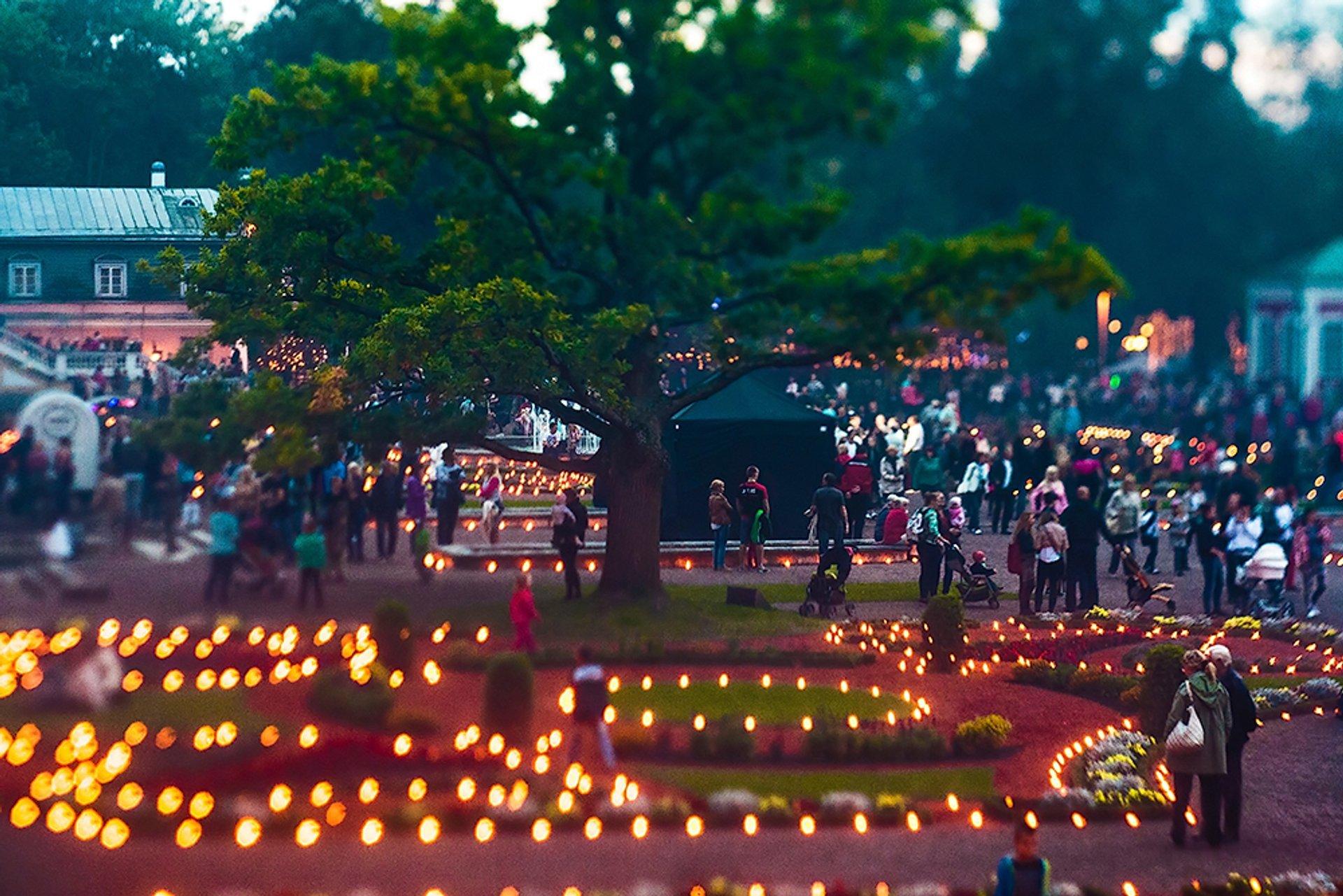 Light Walks in Kadriorg in Estonia - Best Season