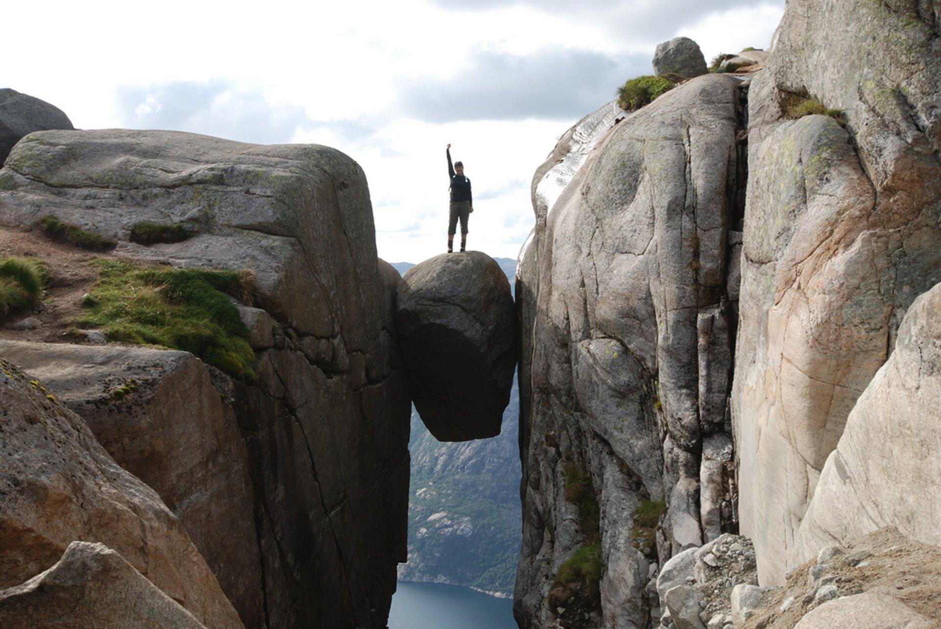 Kjeragbolten Hike in Norway 2020 - Best Time