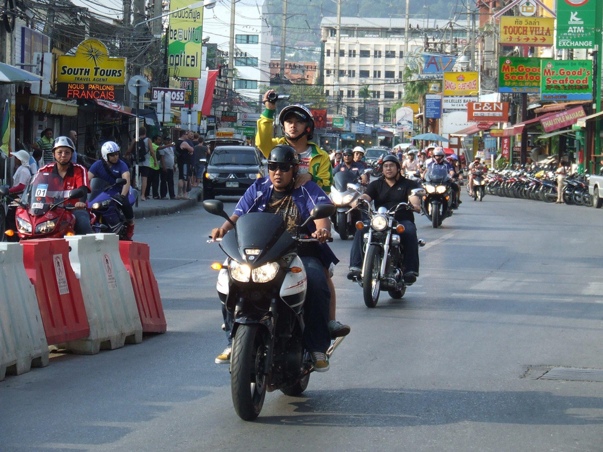 Phuket Bike Week in Phuket - Best Time