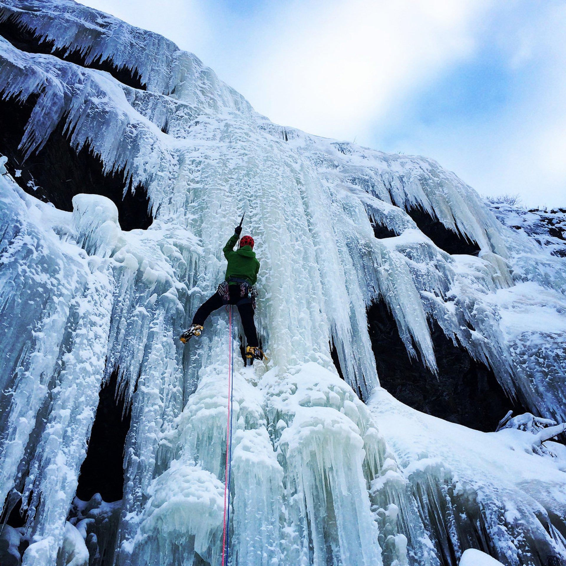 Ice Сlimbing in Norway 2020 - Best Time