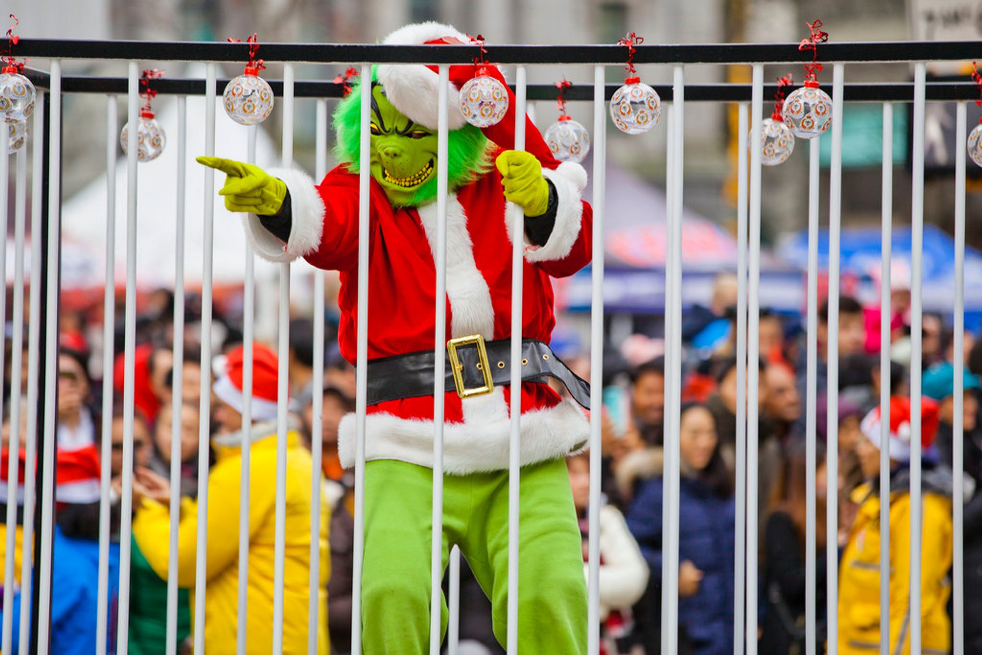 Telus Santa Claus Parade in 2017 2020