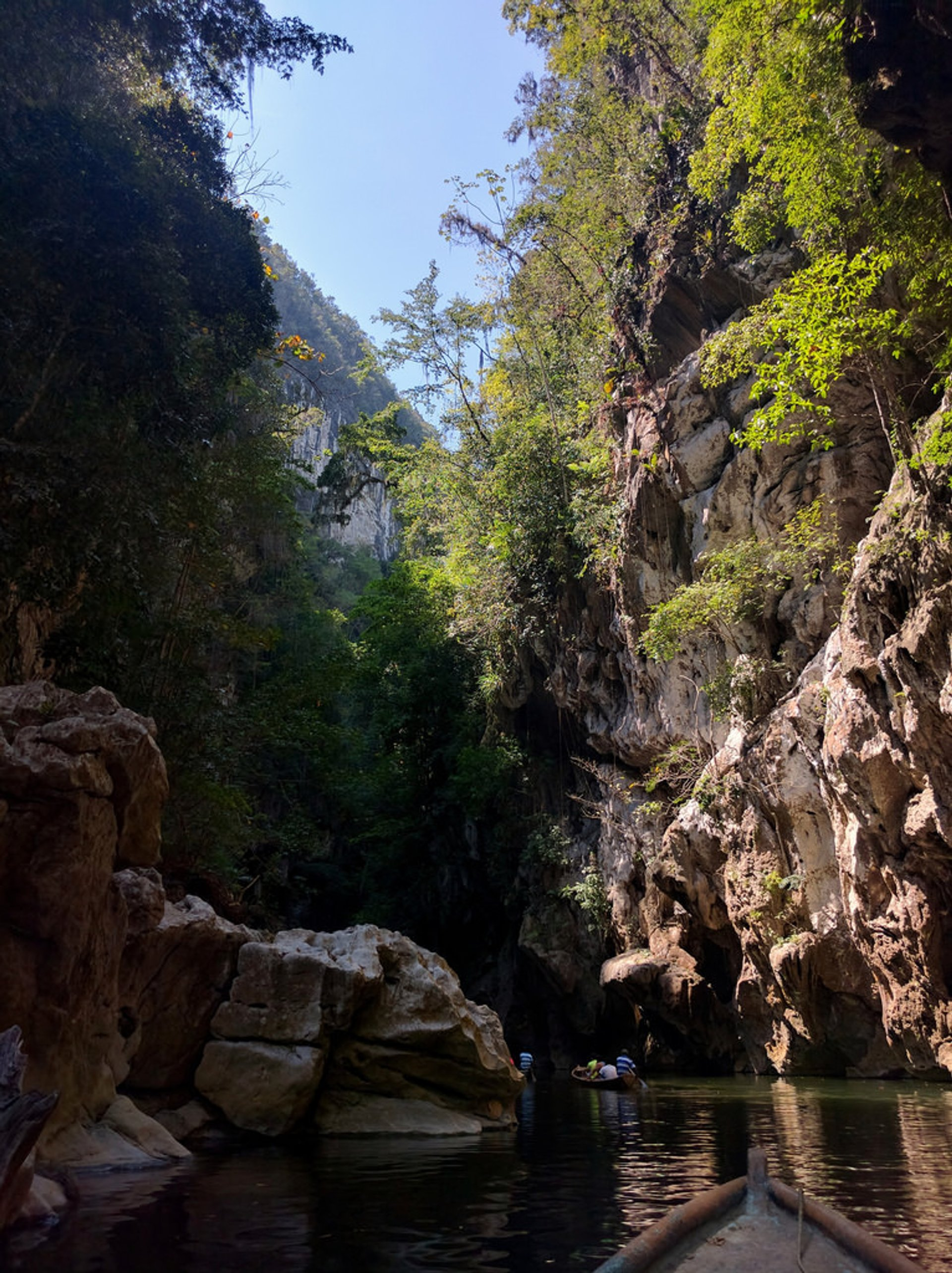 Best time for Boqueron Canyon in Guatemala 2019
