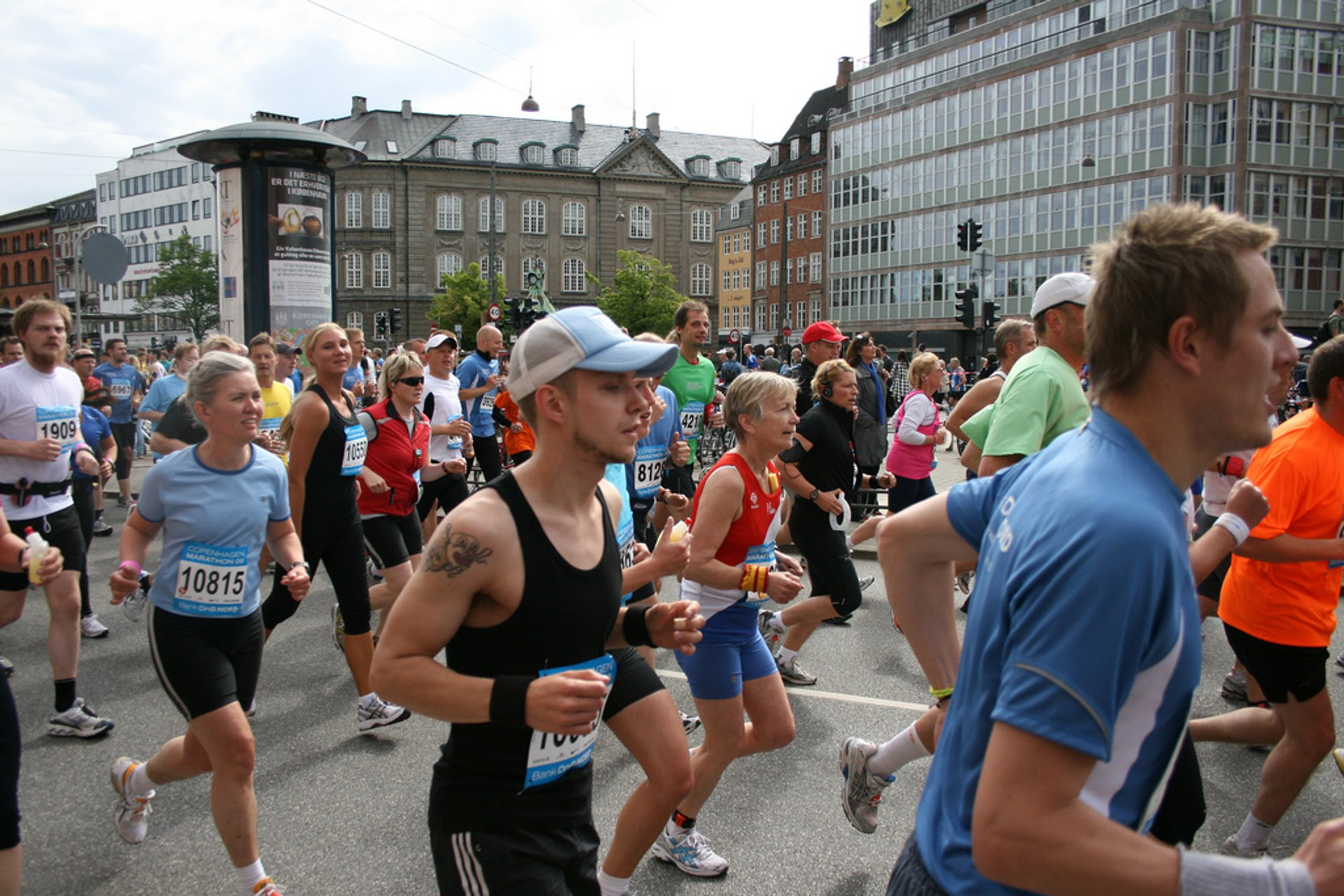 Best time for Copenhagen Marathon