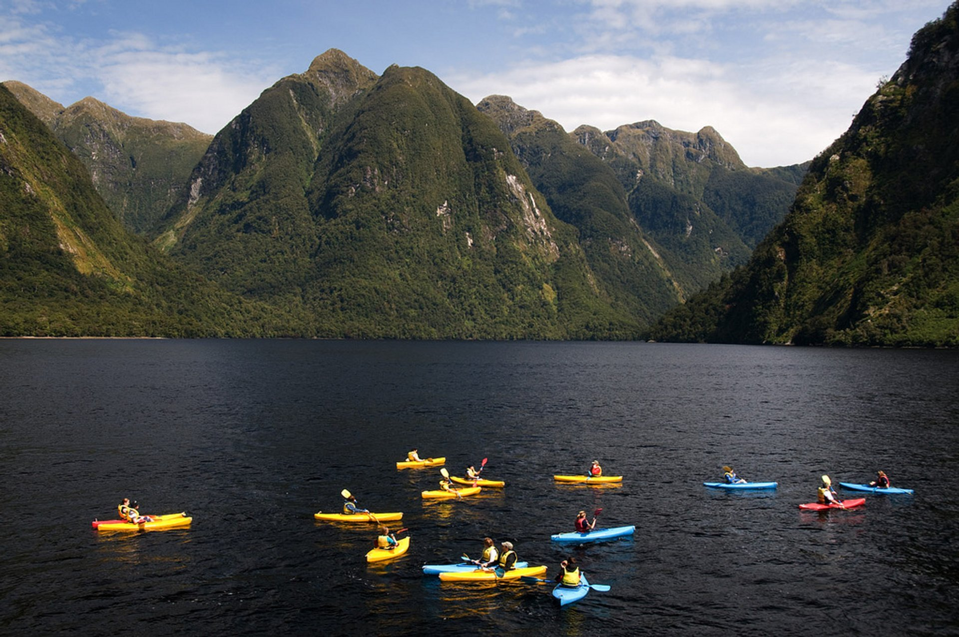 Best time to see Kayaking in New Zealand 2019