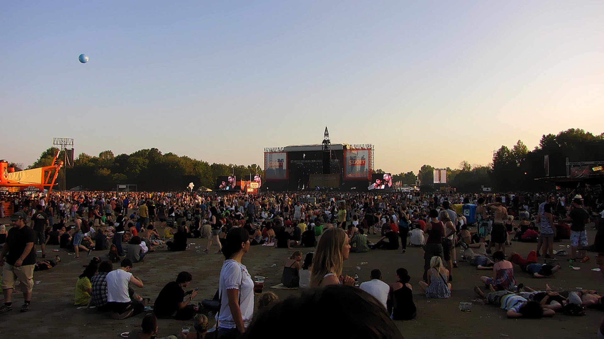 Best time to see Sziget Festival in Hungary 2020