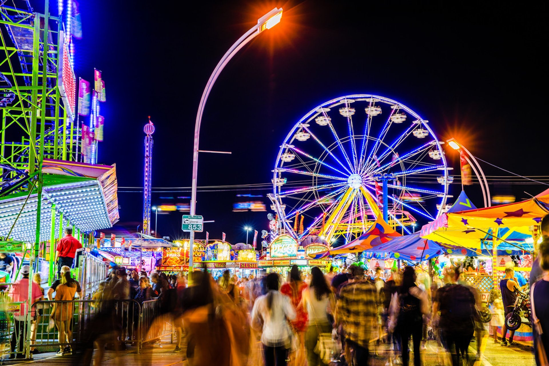 Canadian National Exhibition  in Toronto 2020 - Best Time
